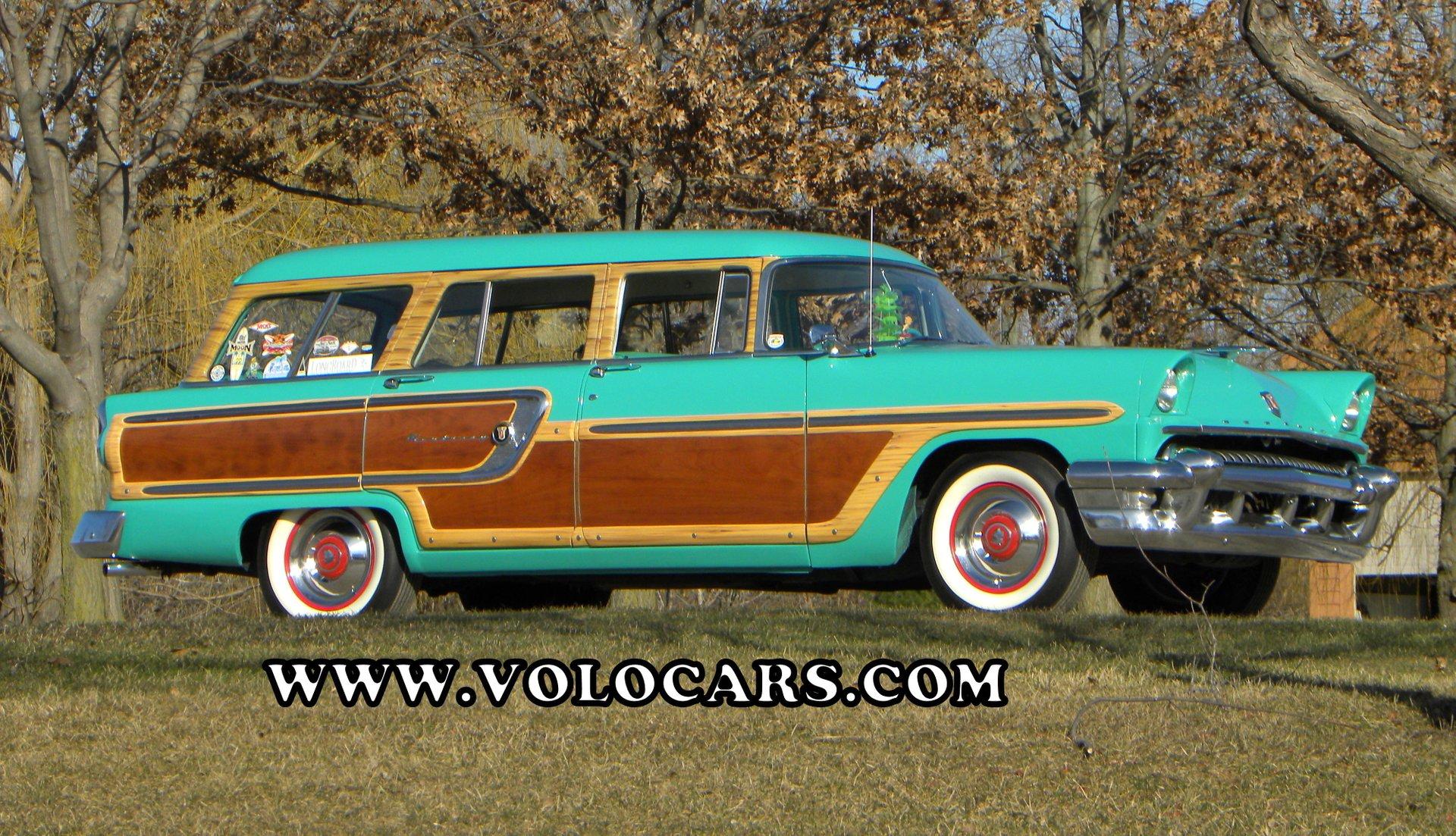 1955 mercury monterey woody estate wagon