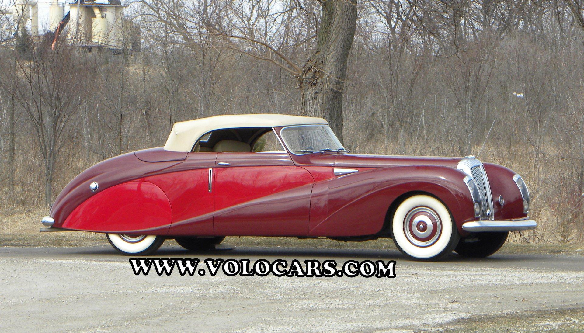1948 daimler de 36 coupe