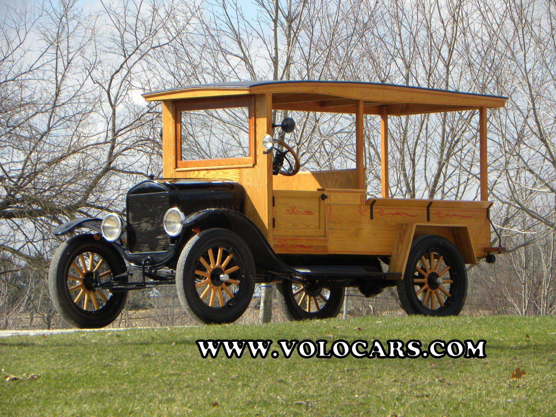 1924 ford model t huckster
