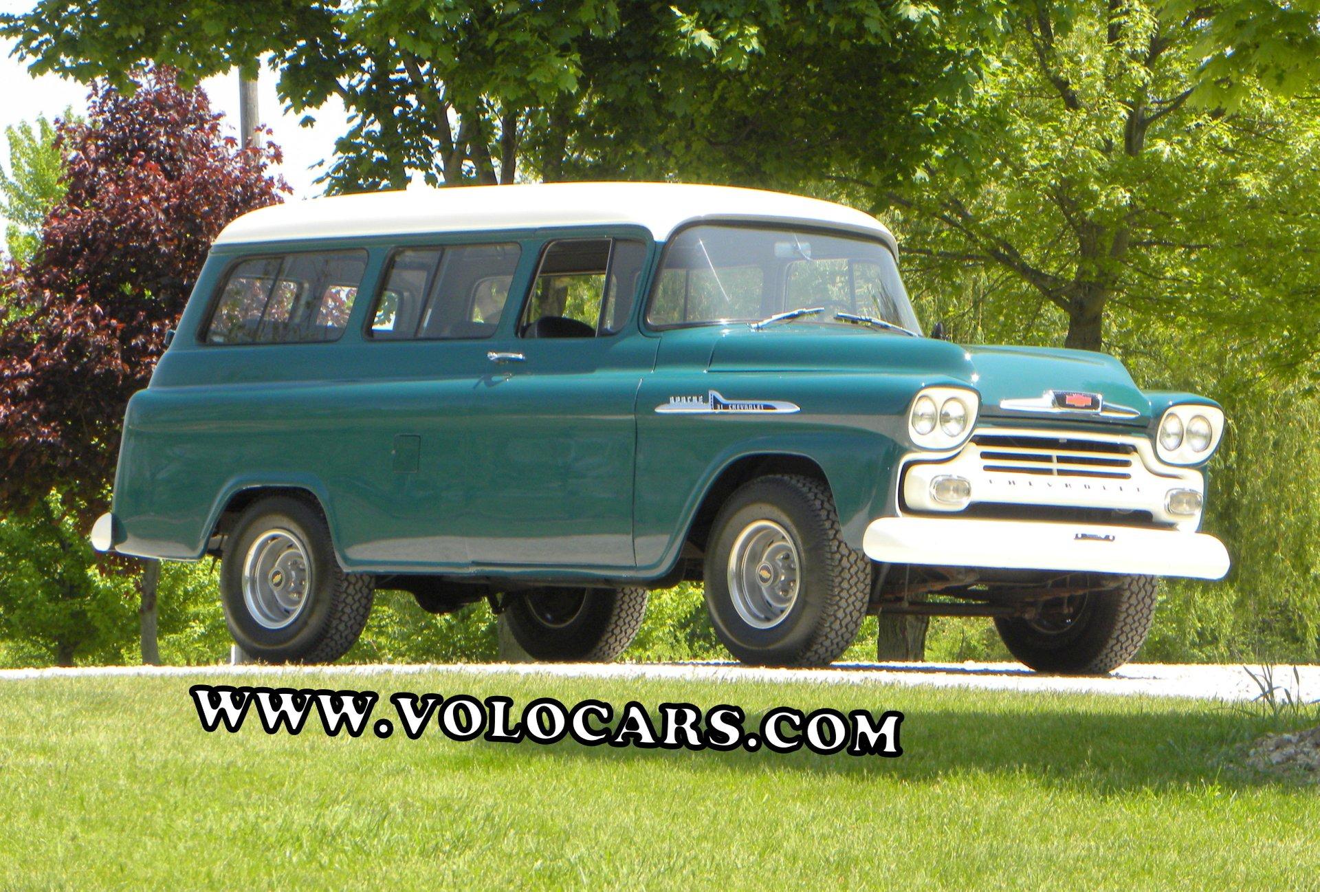 1958 chevrolet apache suburban