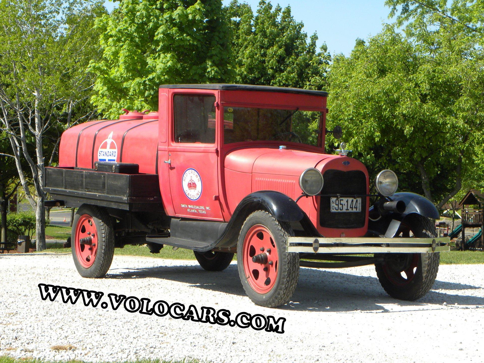 1929 ford model a tanker