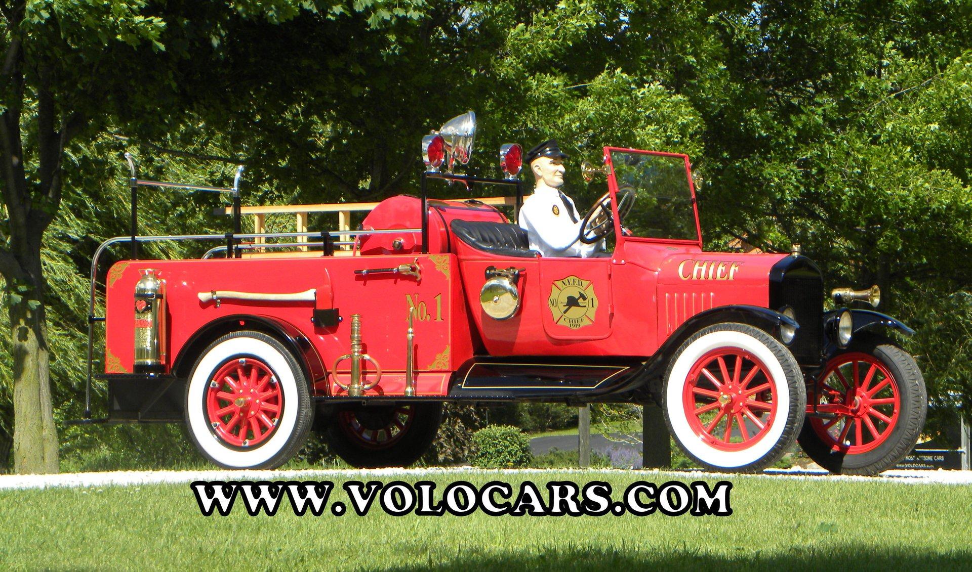 1919 ford model tt fire truck
