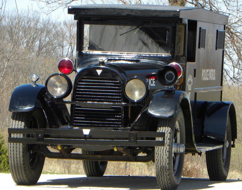 1923 Hudson Paddy Wagon