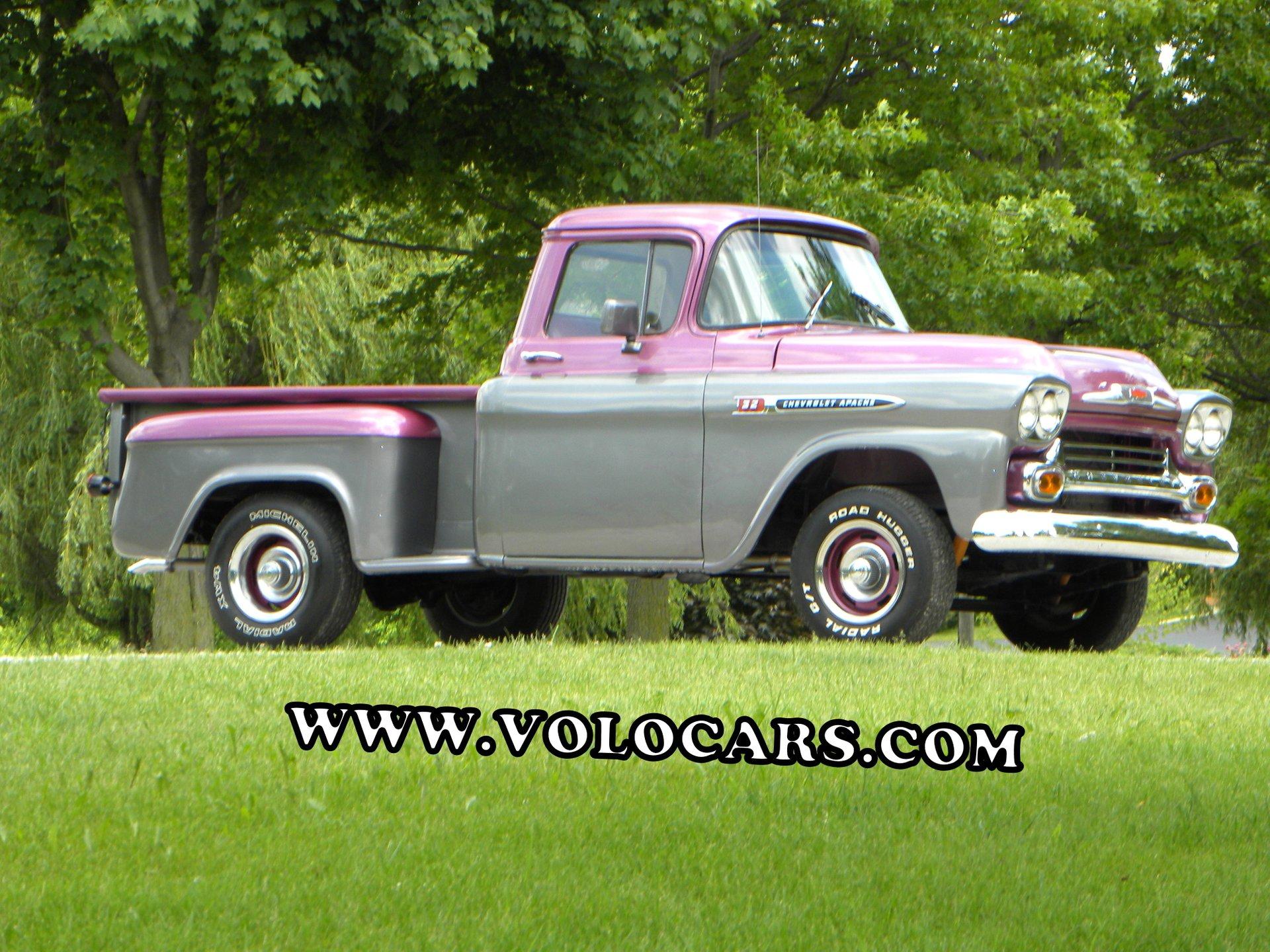 1959 chevrolet apache short bed custom 32