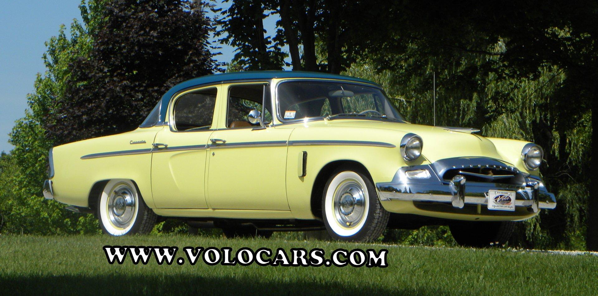 1955 studebaker m16 commander sedan