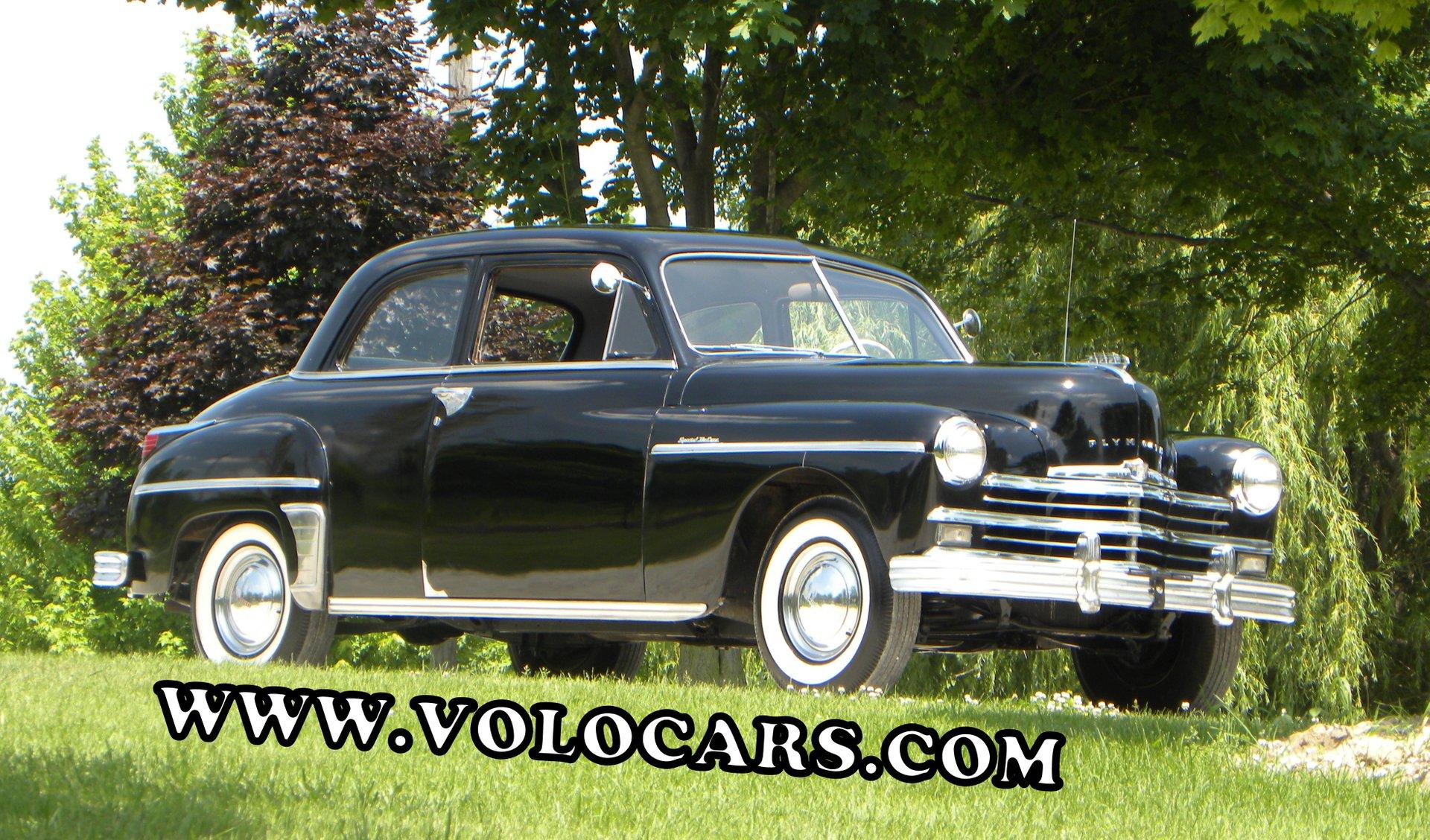 1949 plymouth special deluxe 2 door sedan