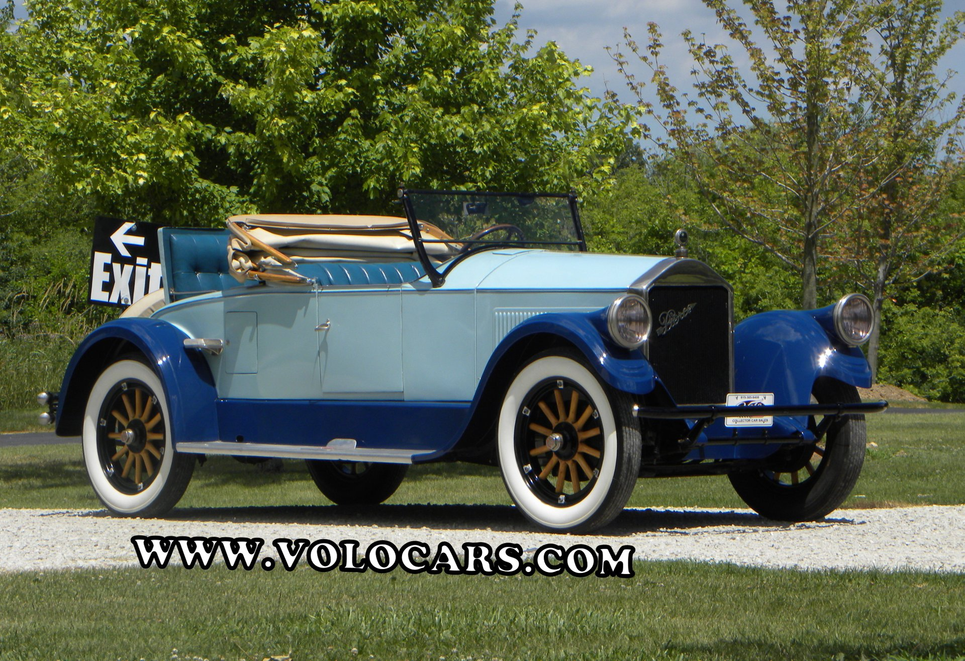 1926 pierce arrow series 80 rumble seat roadster