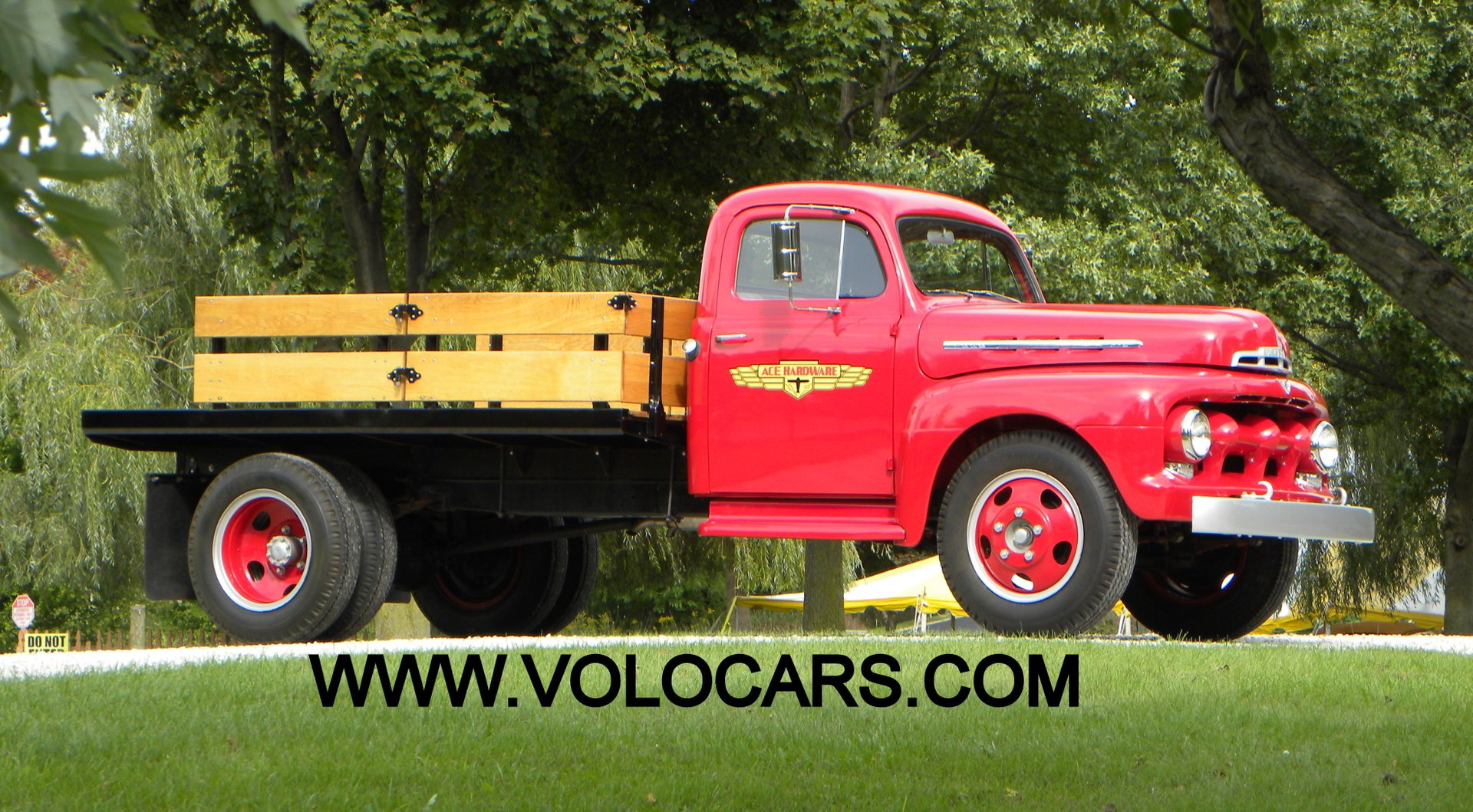 1951 ford f5 stake bed truck