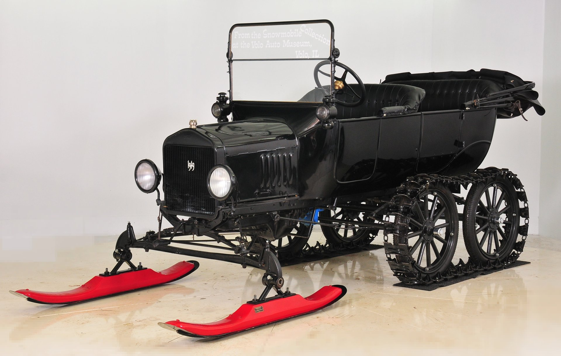 1919 ford model t touring snowflyer