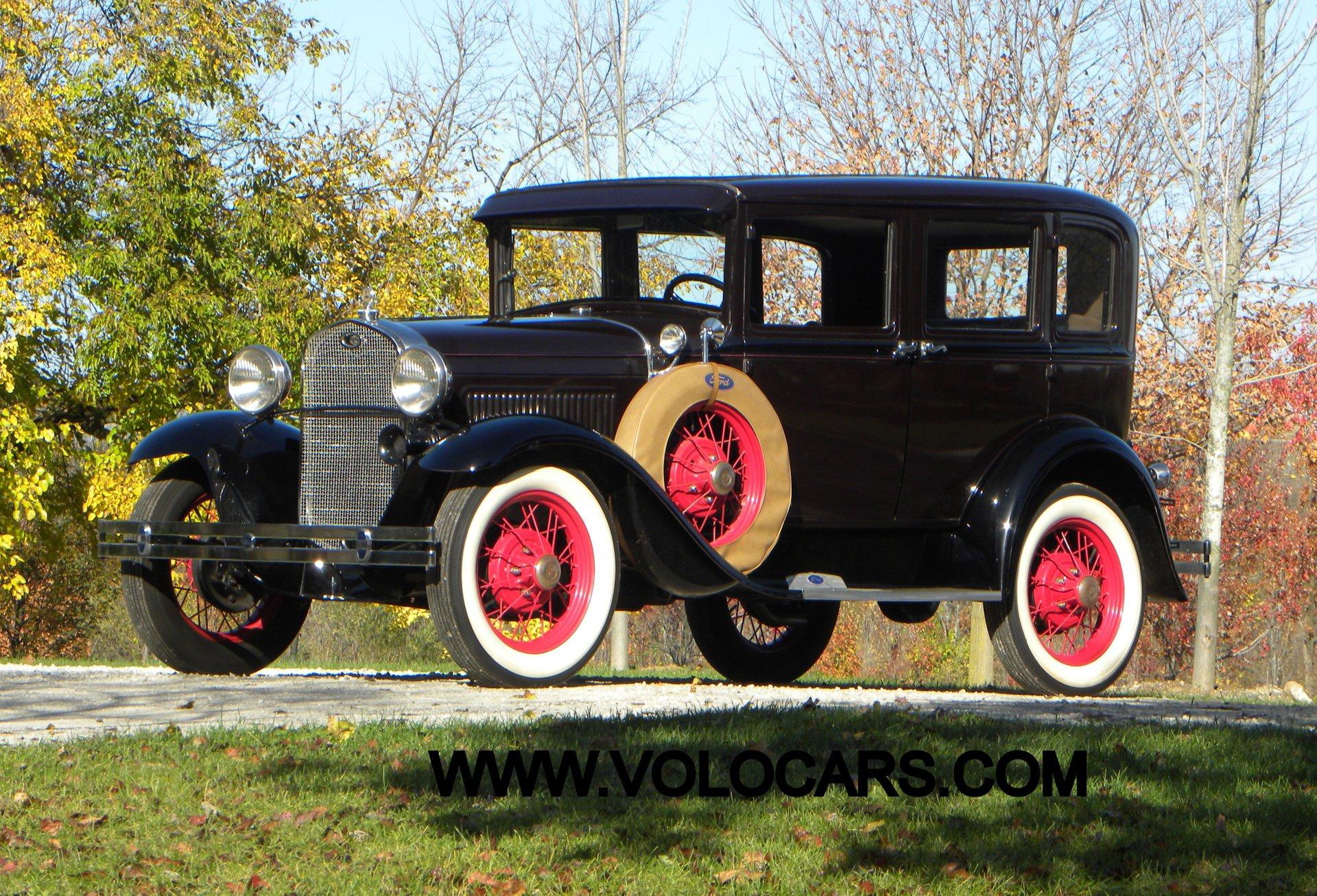 1931 ford model a 4 dr briggs sedan