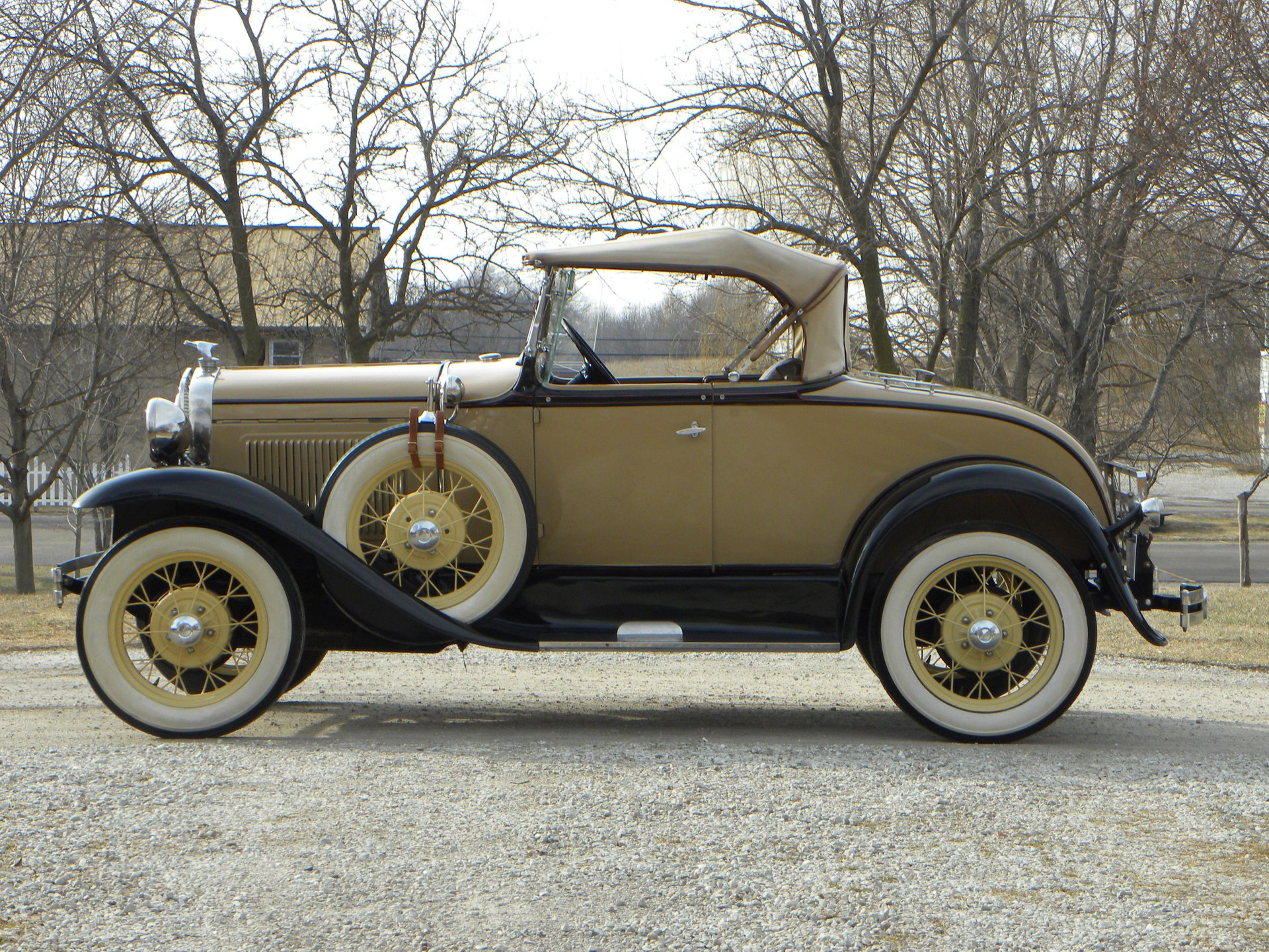 1931 ford model a rumble seat deluxe roadster