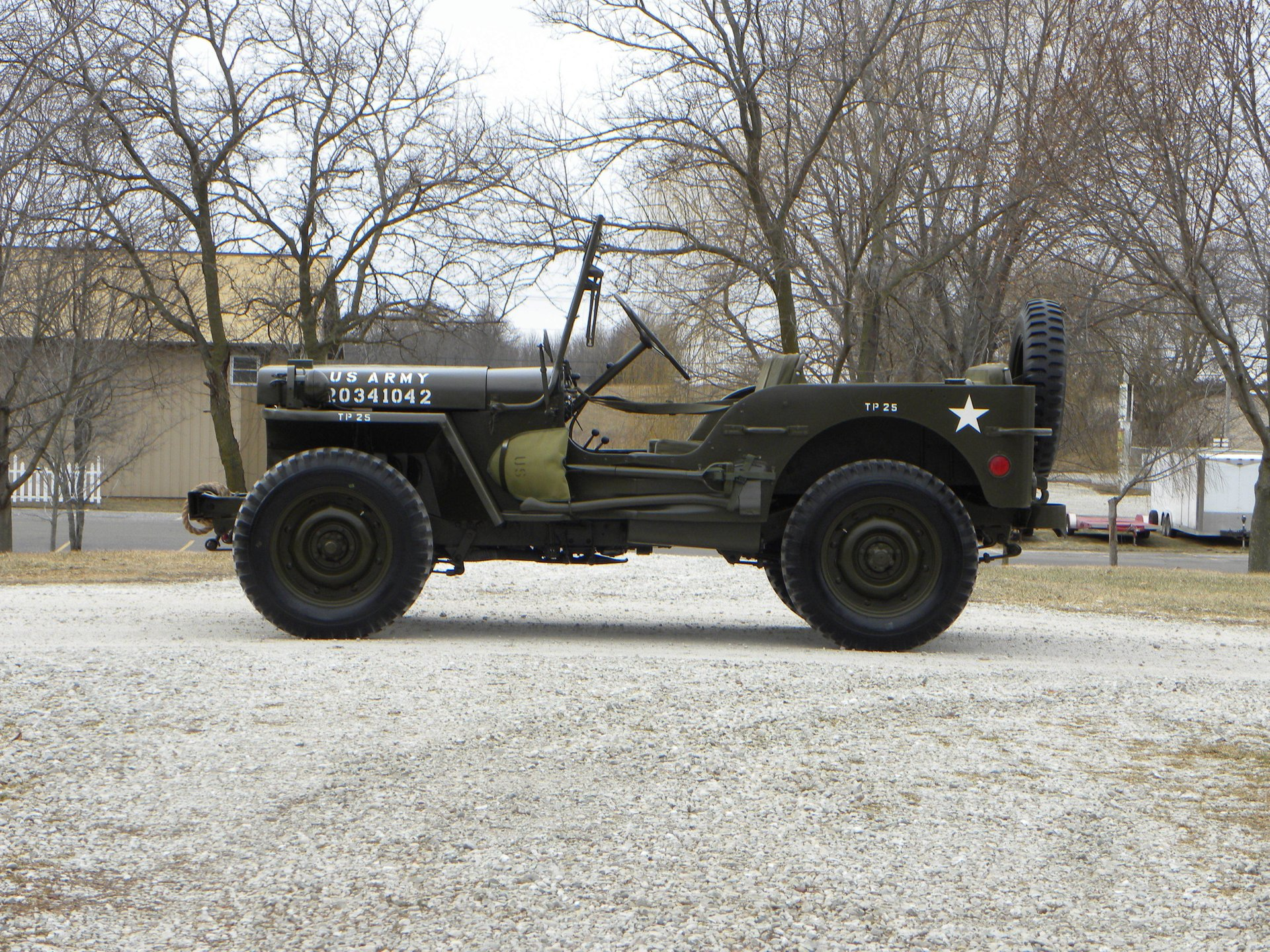 1942 ford gpw jeep us army issue