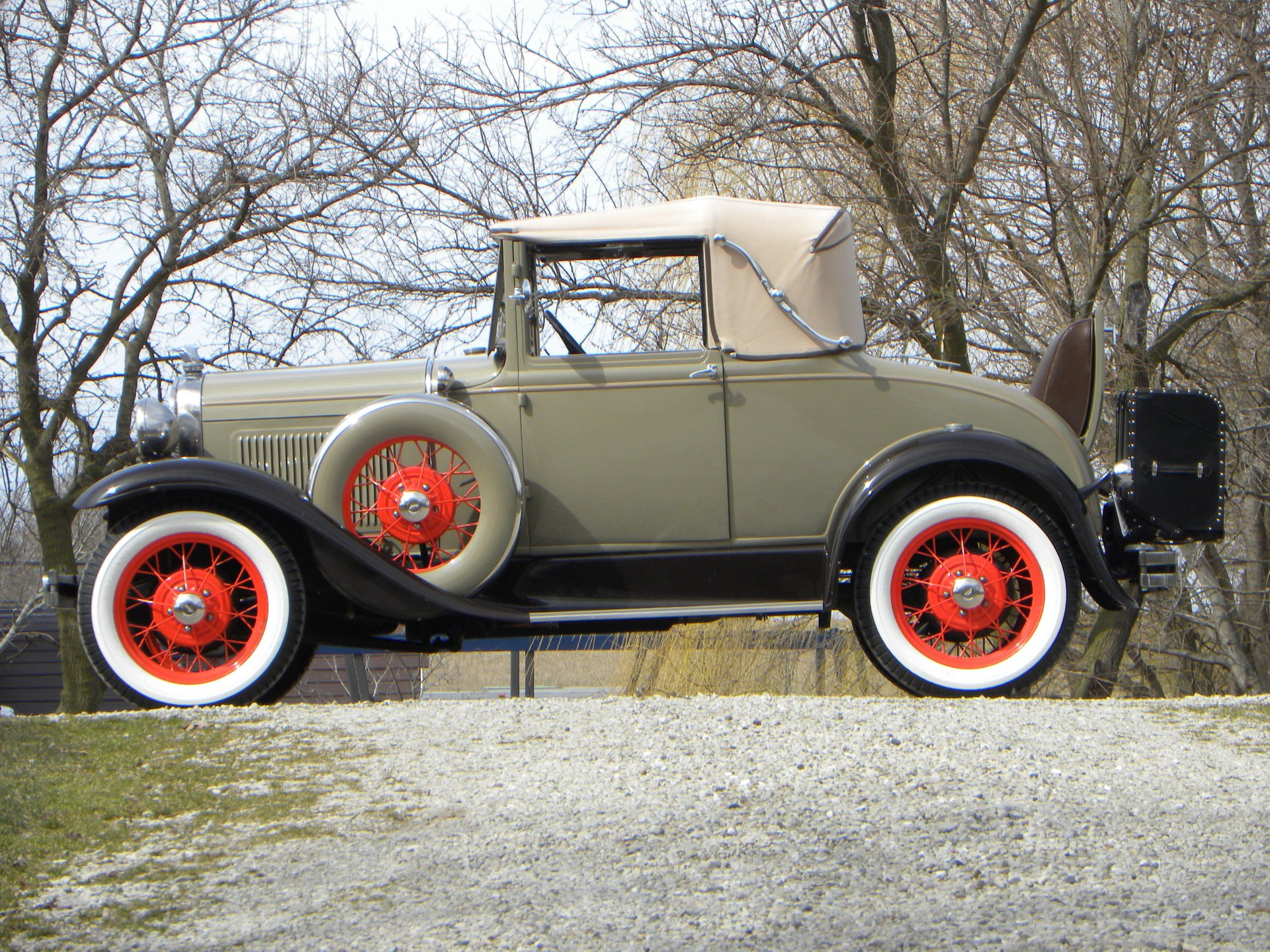 1931 ford model a 68b cabriolet