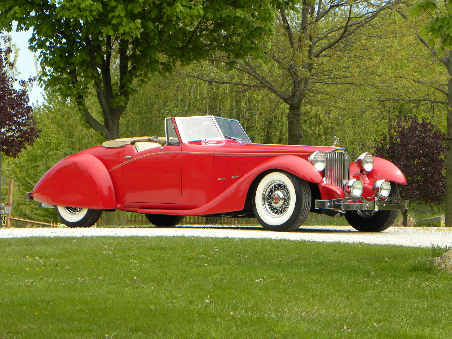 1934 packard 1107 roadster bayliff recreation
