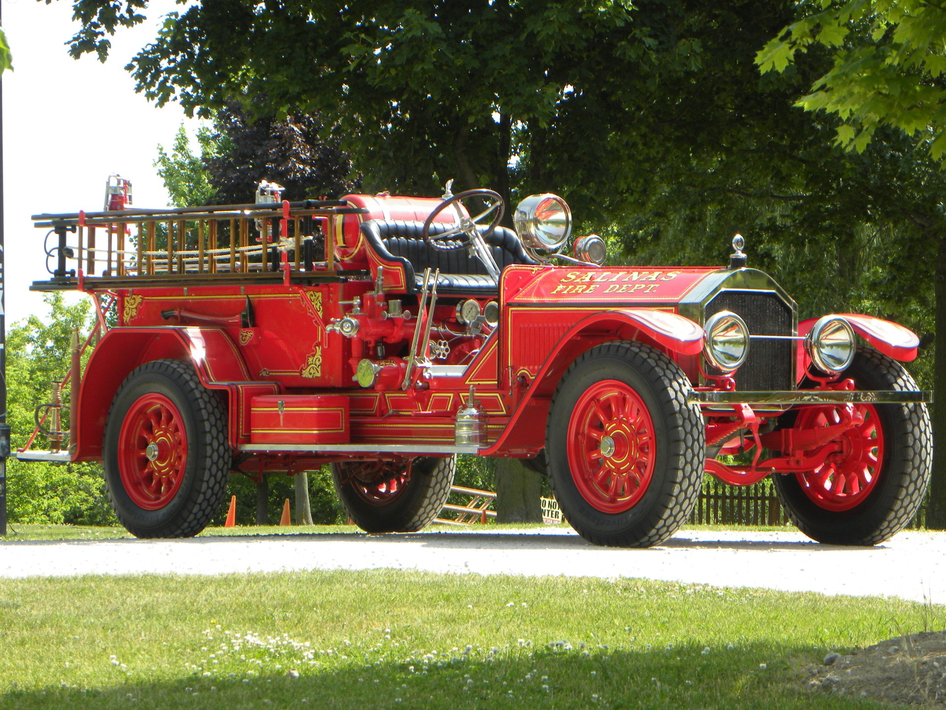 1922 american la france type 75 pumper