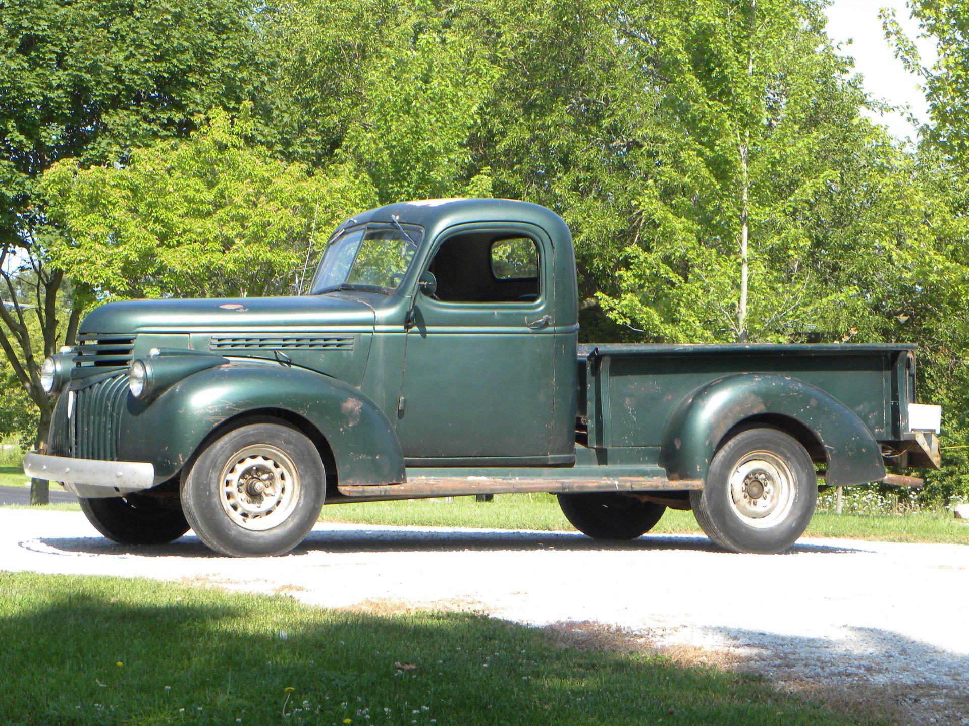 1945 chevrolet 1 2 ton pickup truck