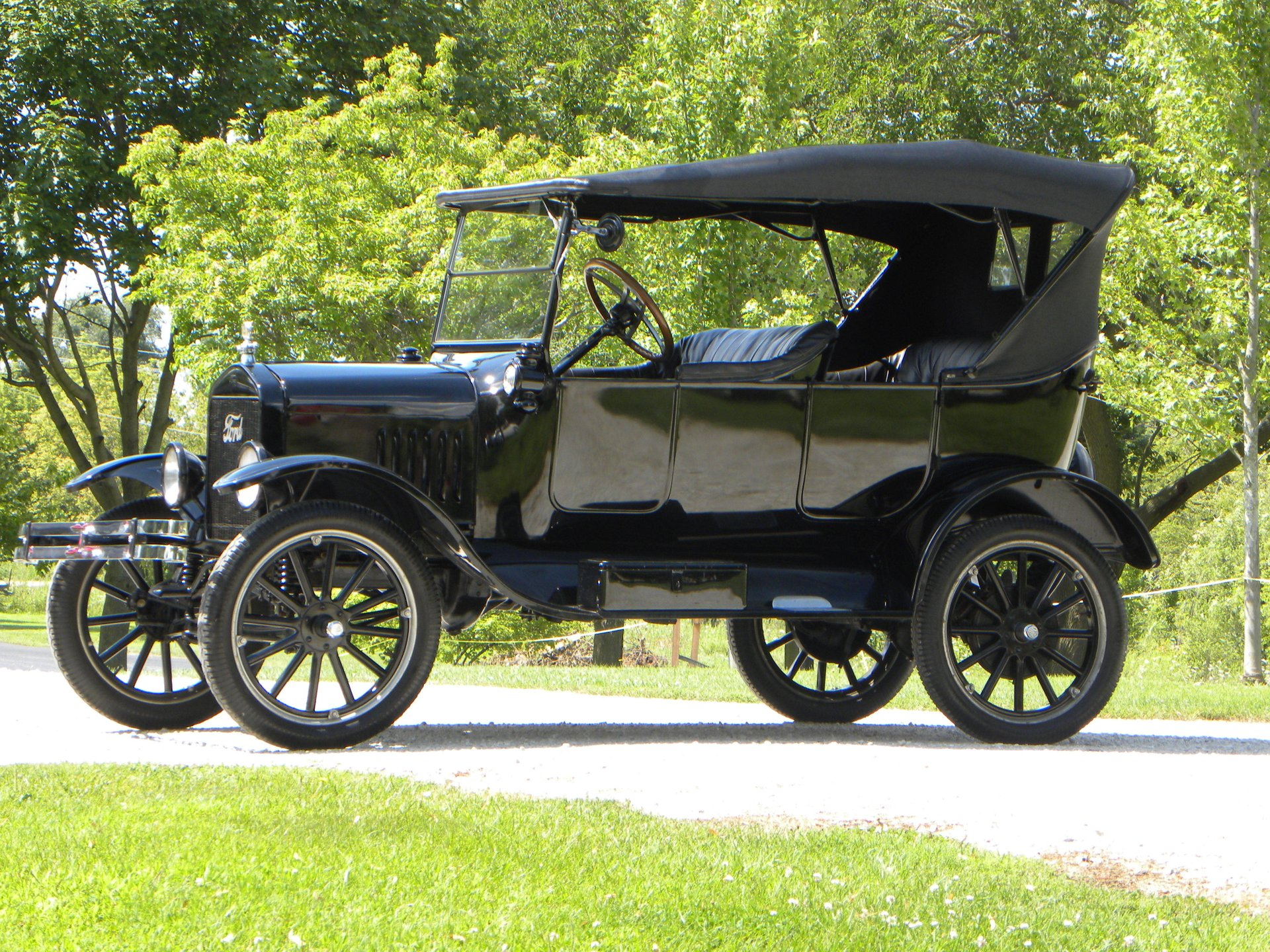 1923 ford model t touring