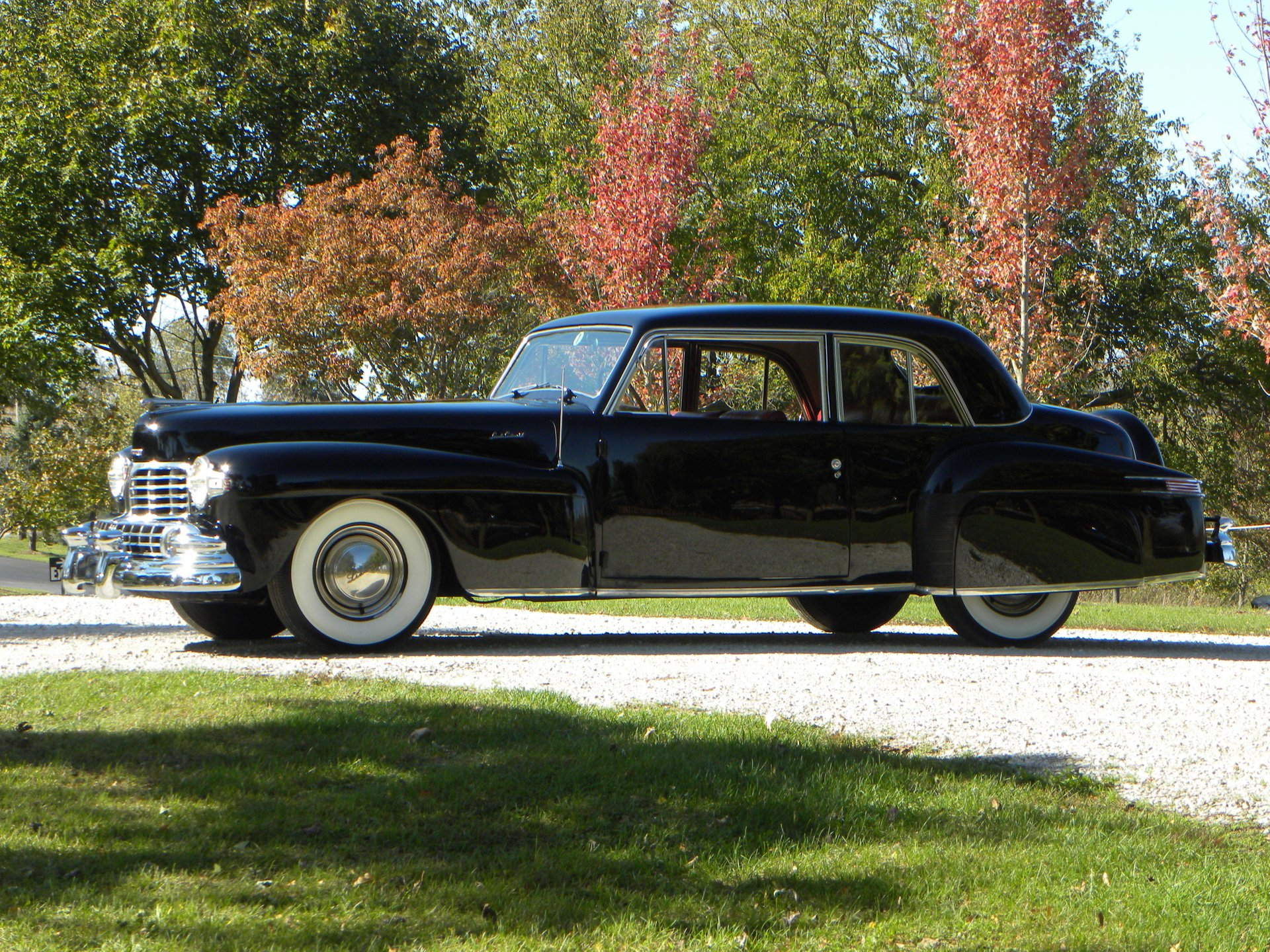 1948 lincoln continental coupe model 876h
