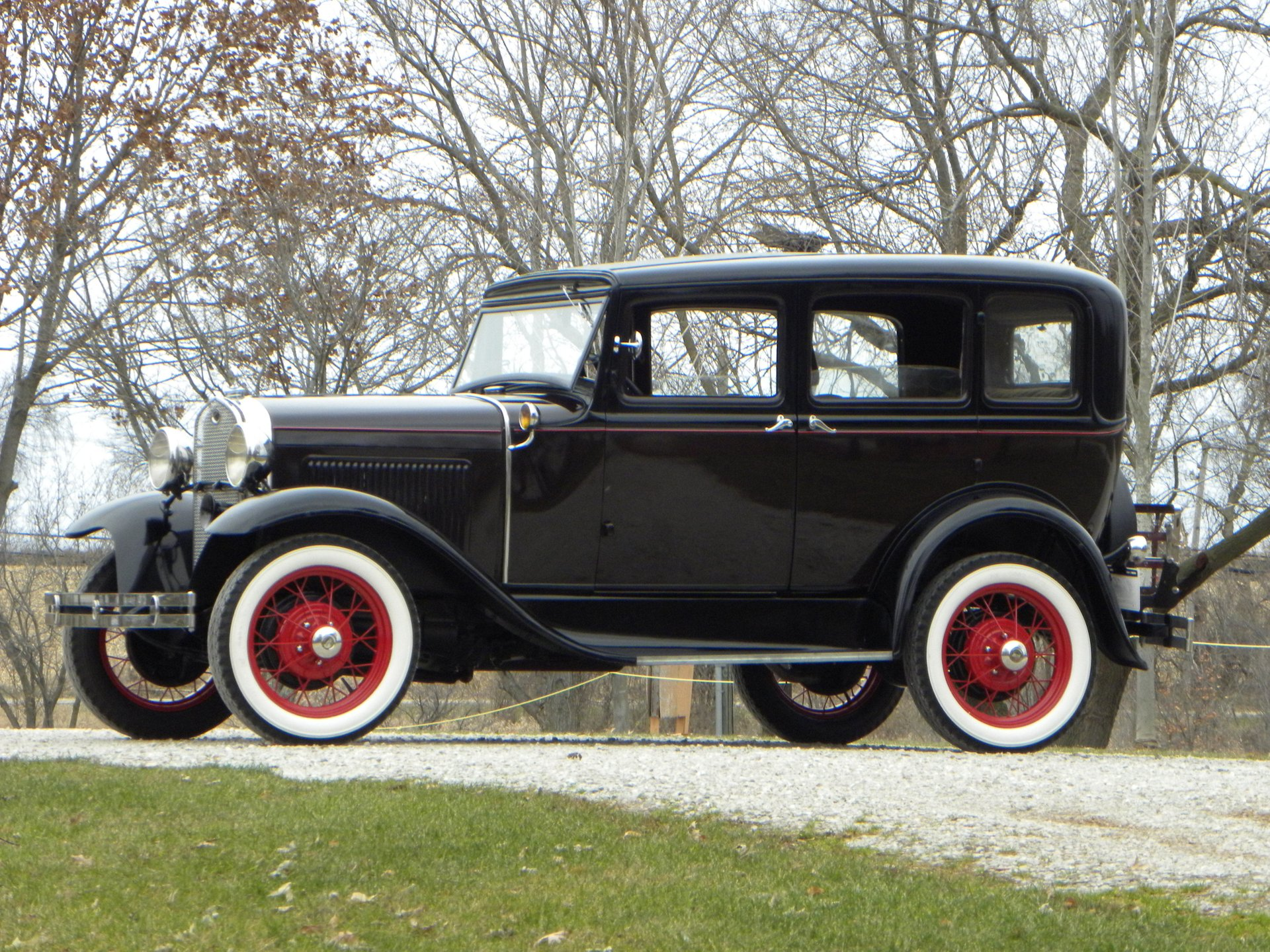 1931 ford model a murray body town sedan