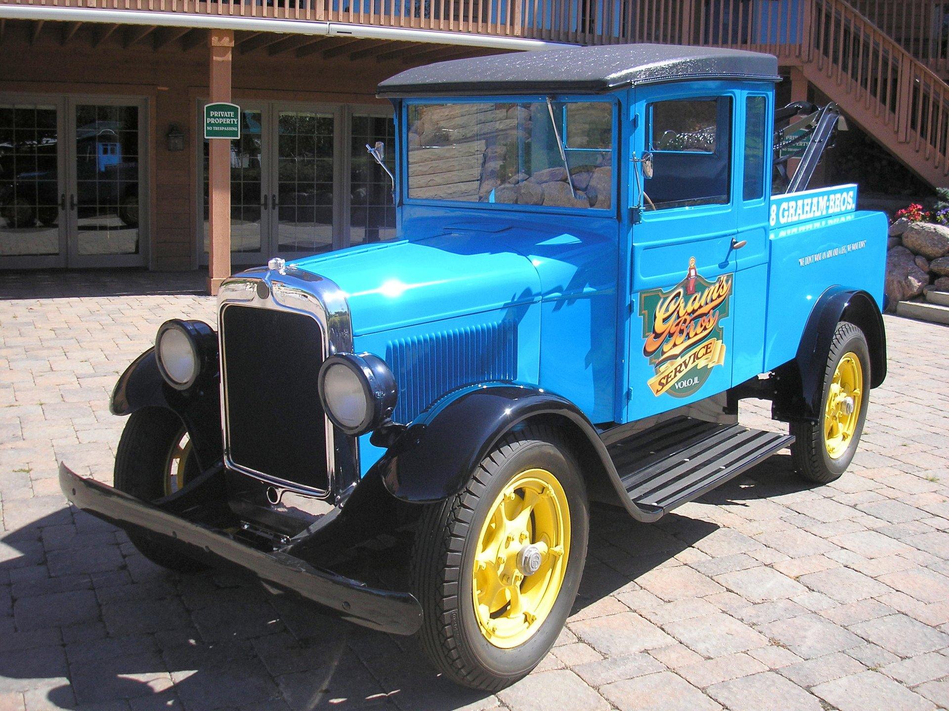 1928 graham bros tow truck weaver auto crane