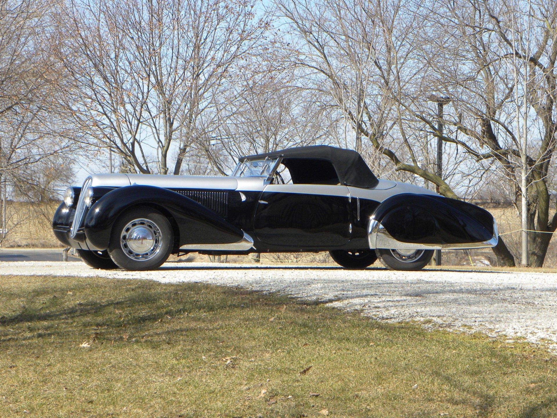 1937 peugeot model 402 pourtout cabriolet