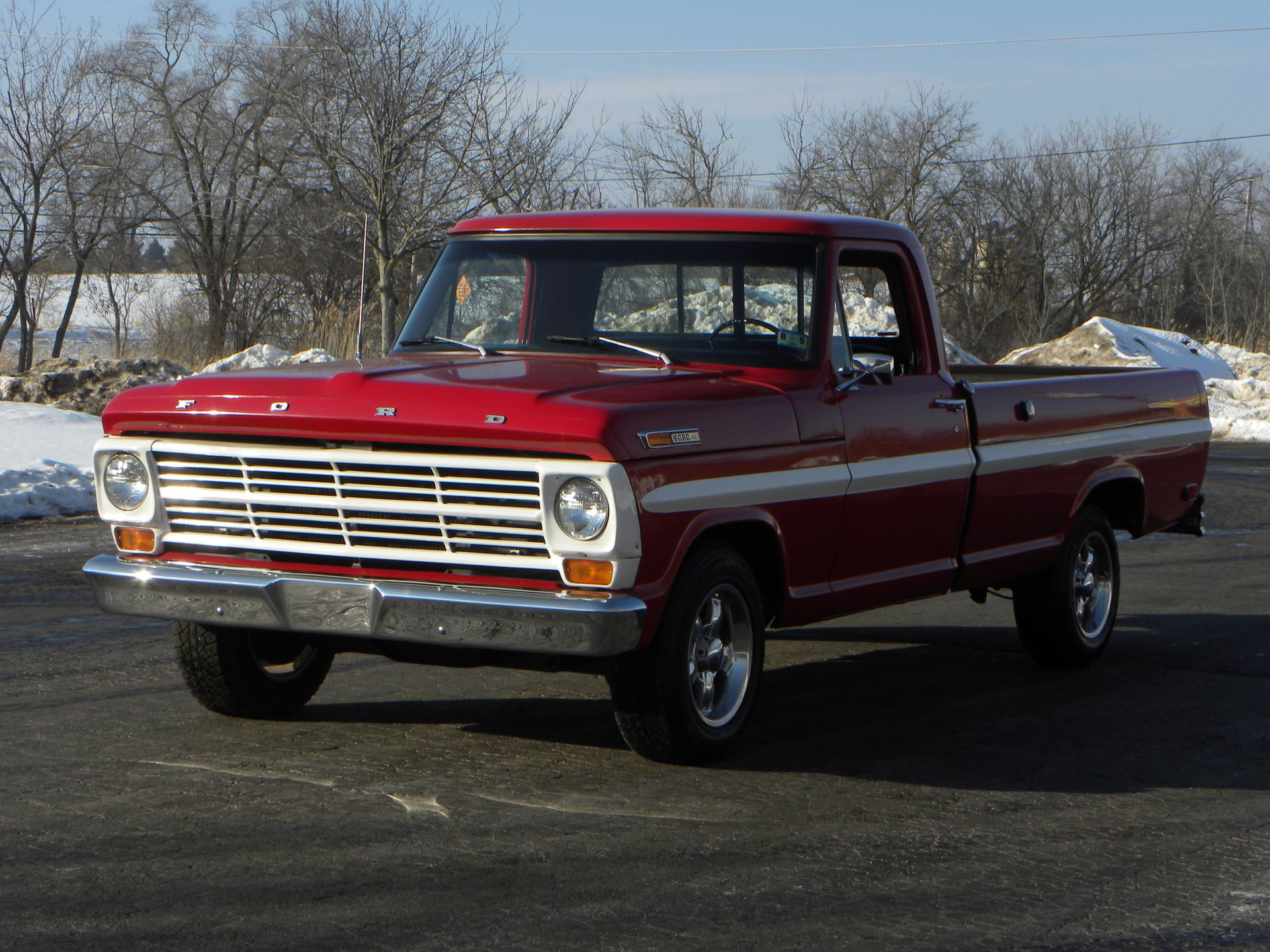 1969 ford f100 deluxe styleside pickup
