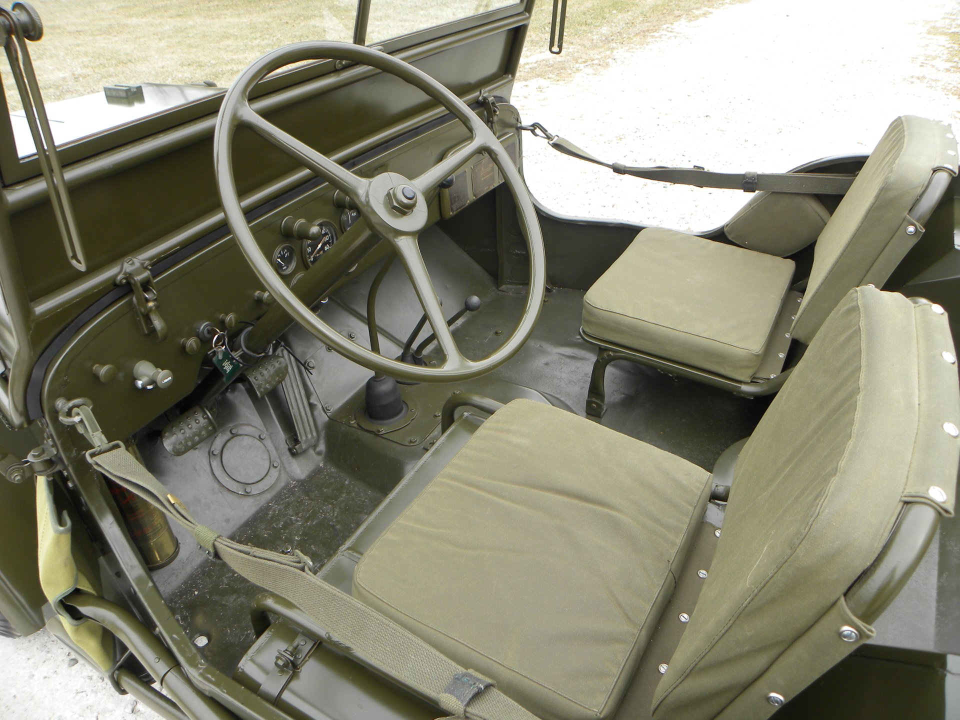 1942 Ford GPW Jeep US Army Issue for sale #83136   MCG