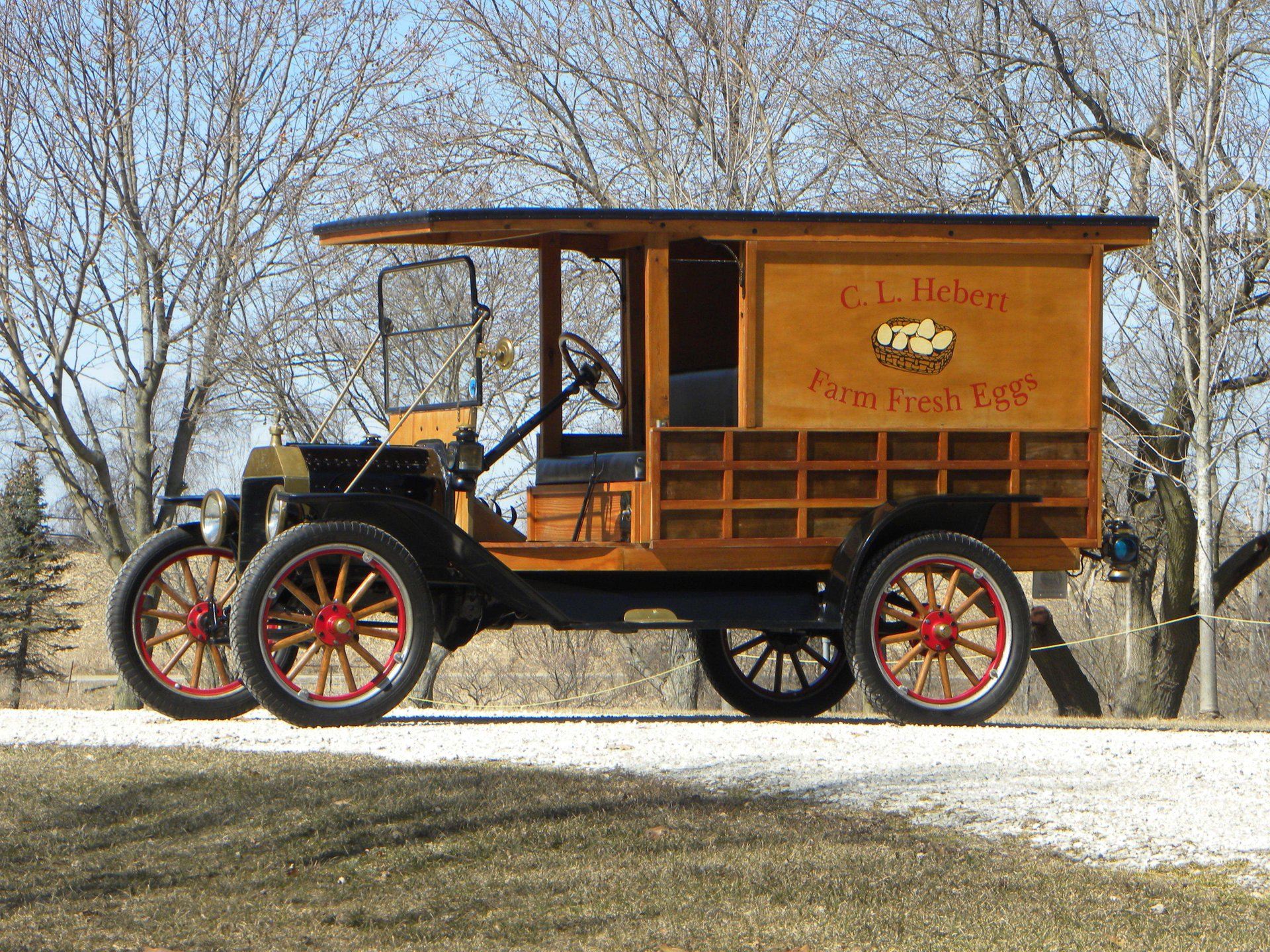 1914 ford model t panel delivery