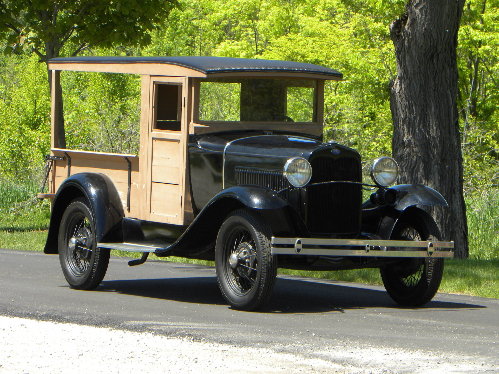 1930 ford model a huckster