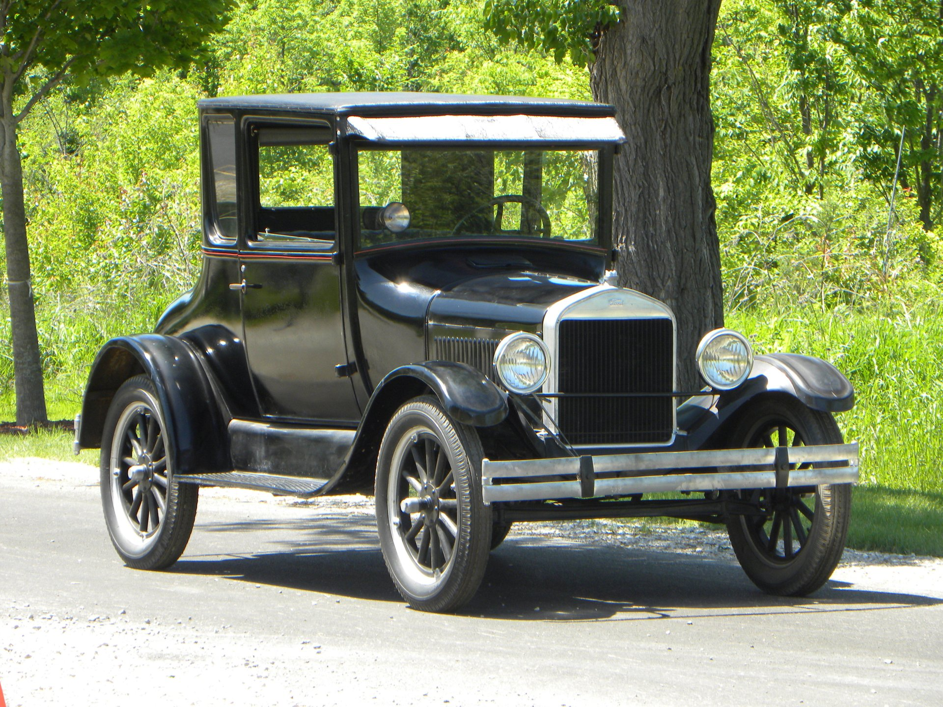 1926 ford model t dr s coupe