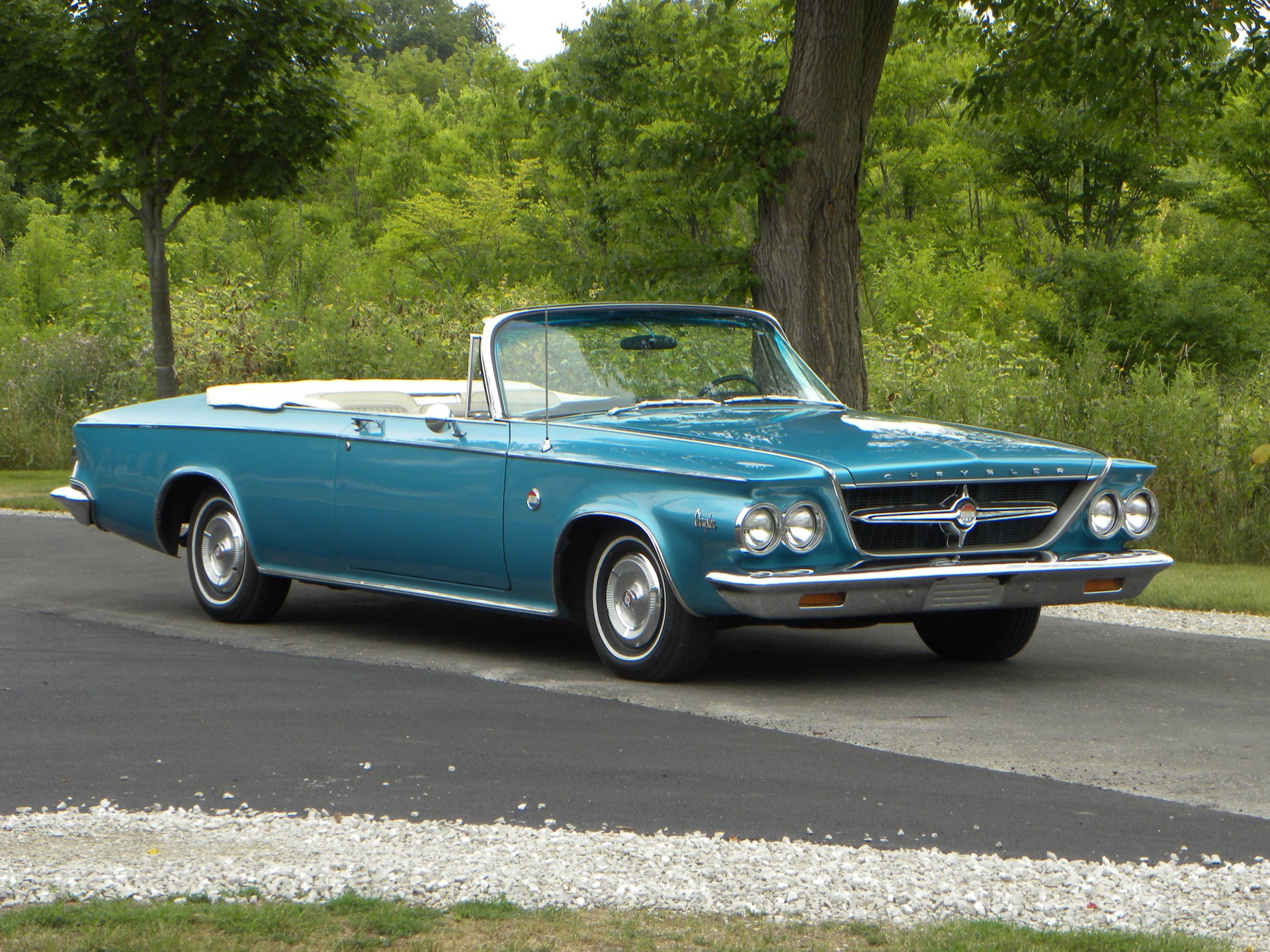 1963 chrysler 300 pacesetter pace car