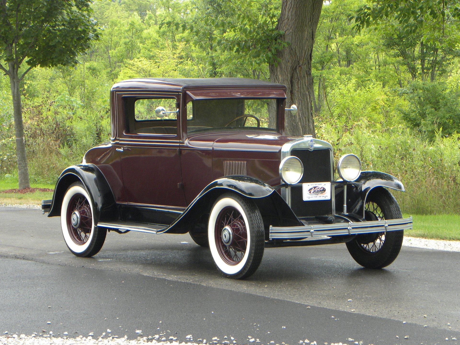 1929 chevrolet ac coupe