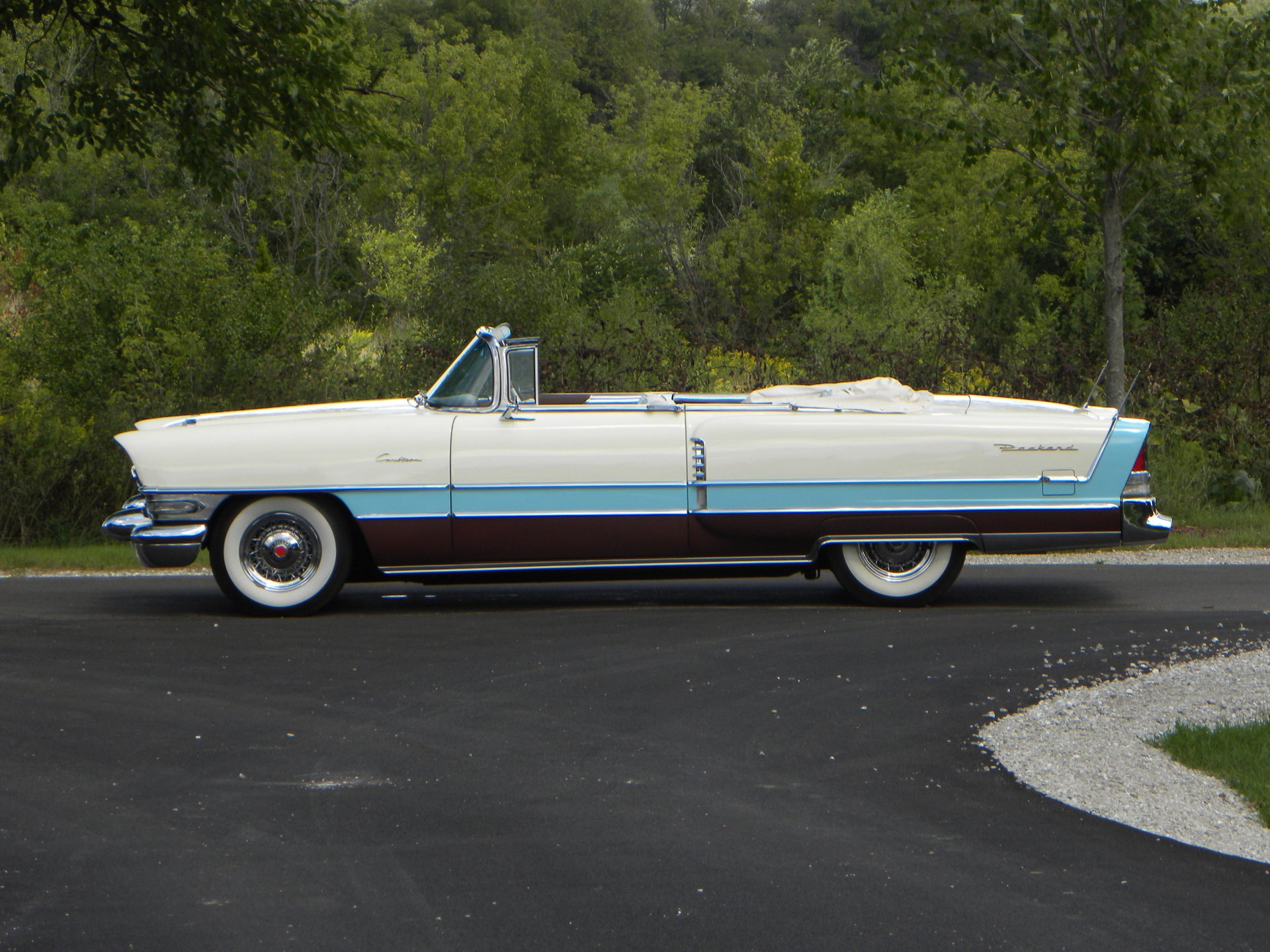 1956 packard caribbean custom convertible