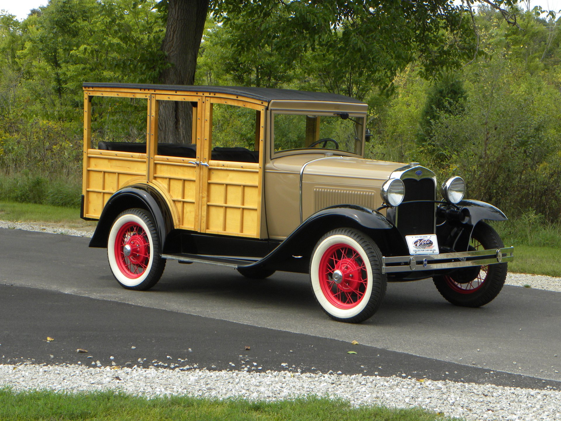1930 ford model a woody station wagon