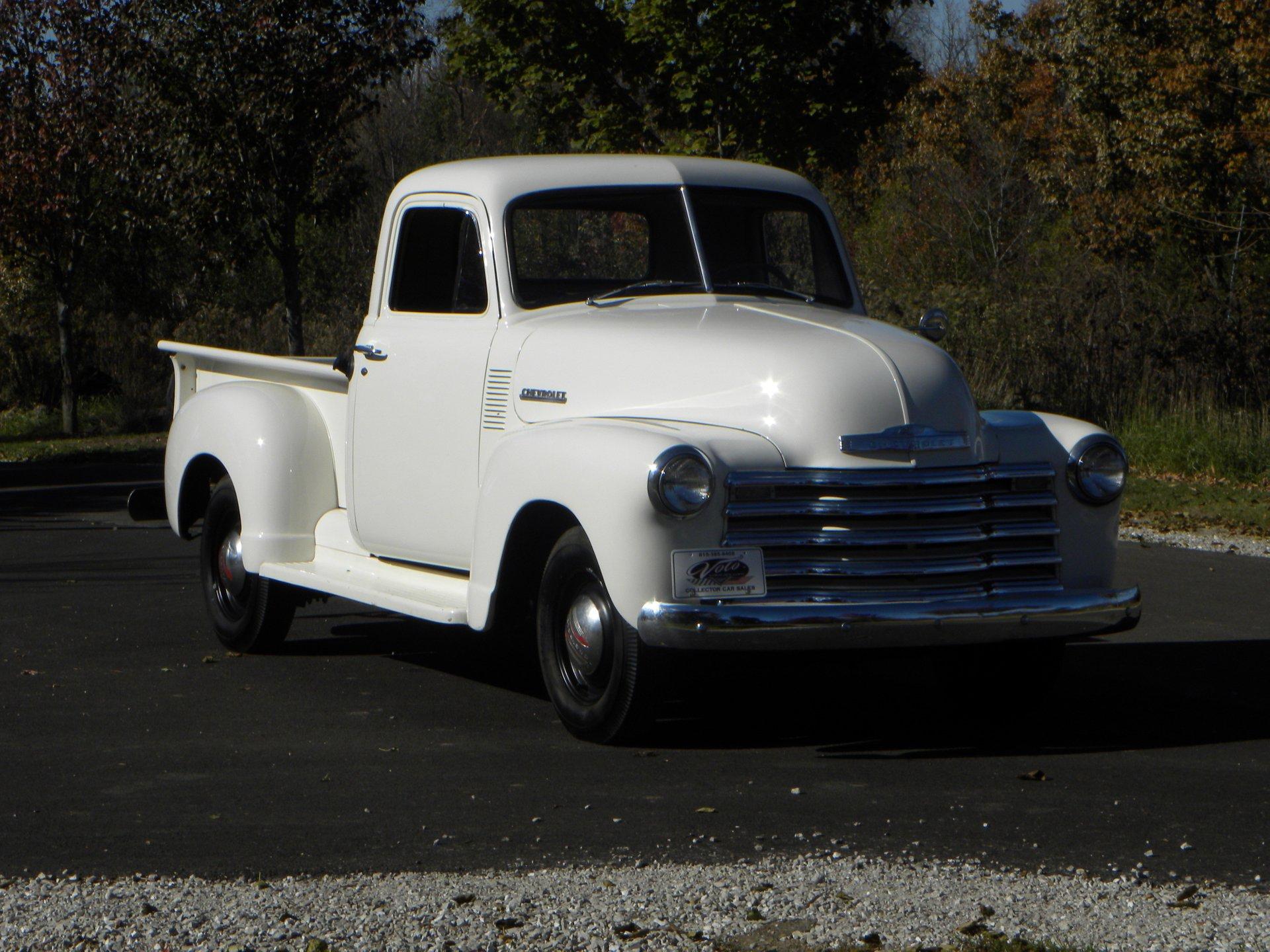 1951 chevrolet 3100 1 2 ton pickup