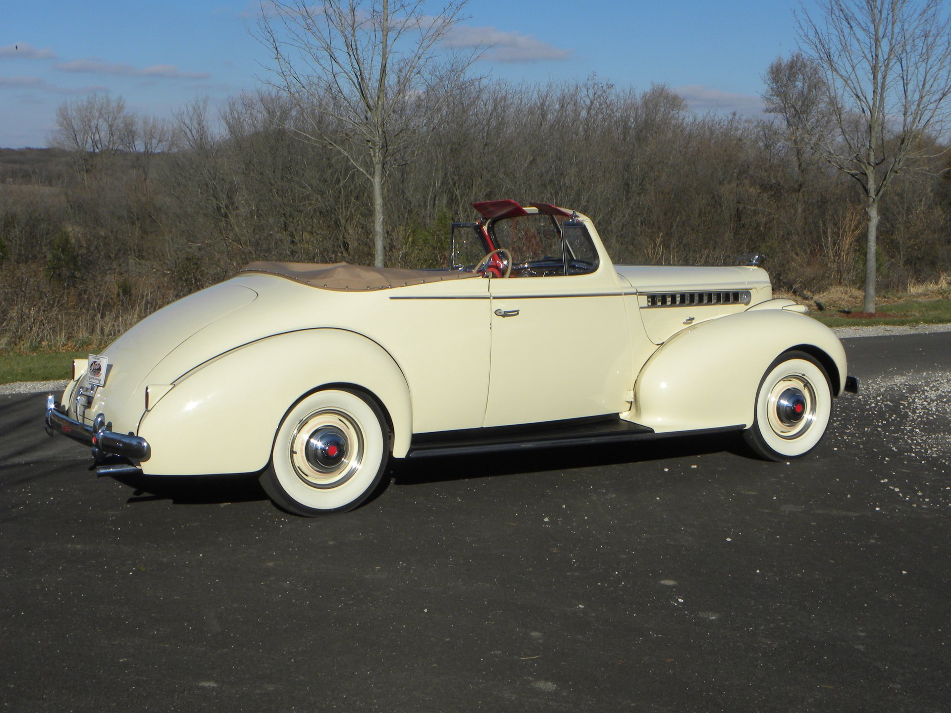 1940 packard 120 deluxe convertible coupe 1801