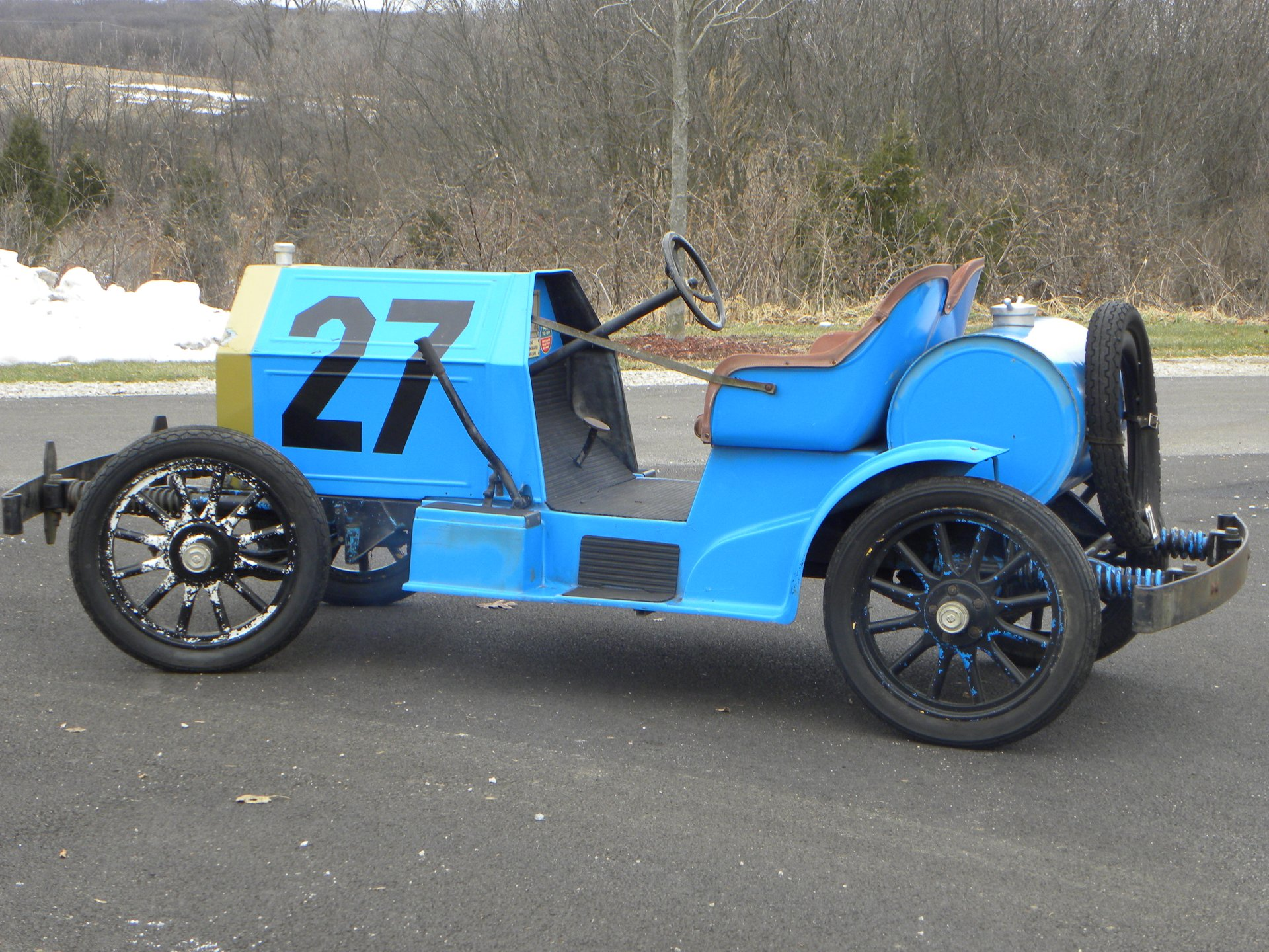 1908 locomobile replica race car