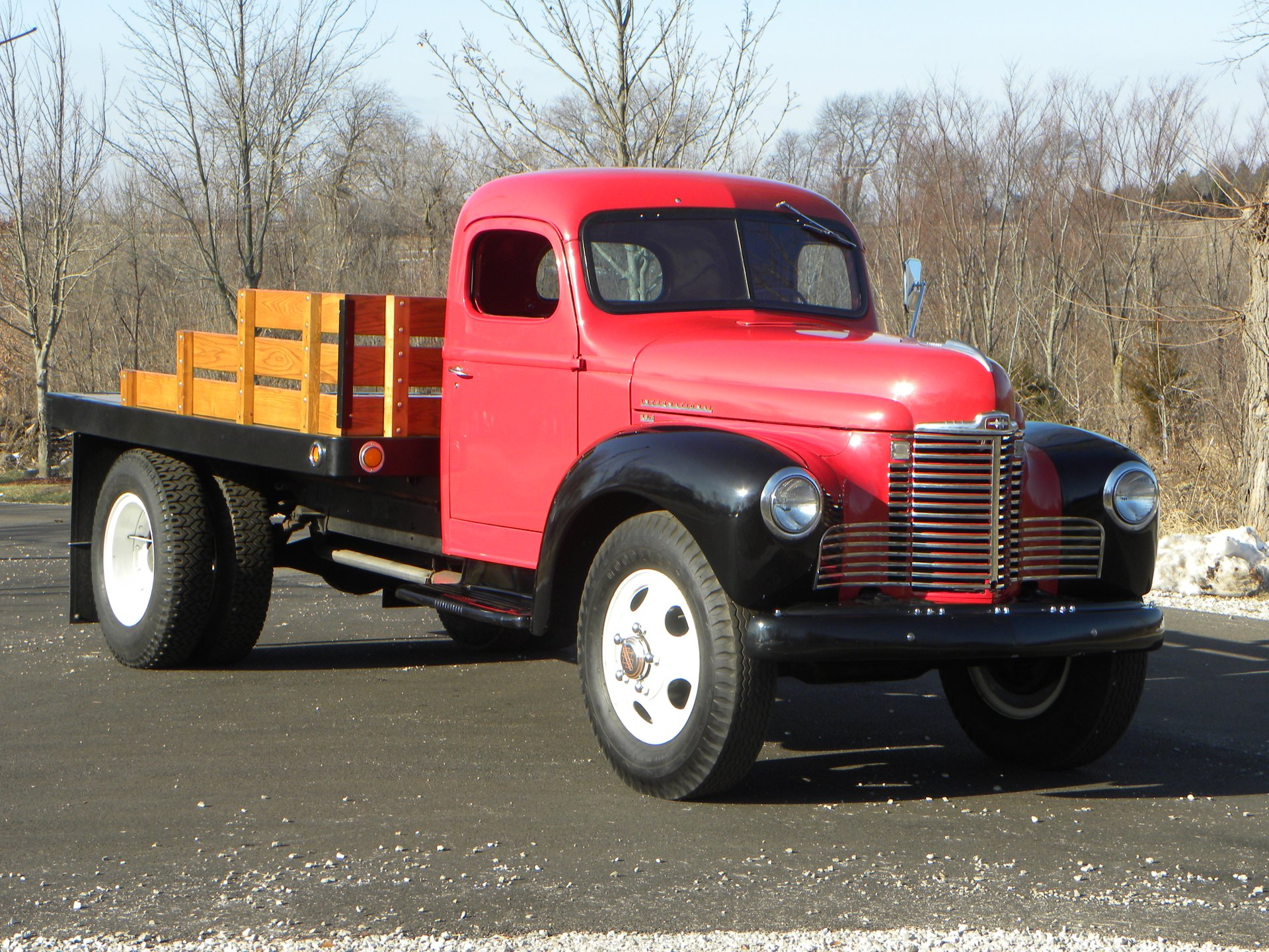 1948 international kb5 stakebed