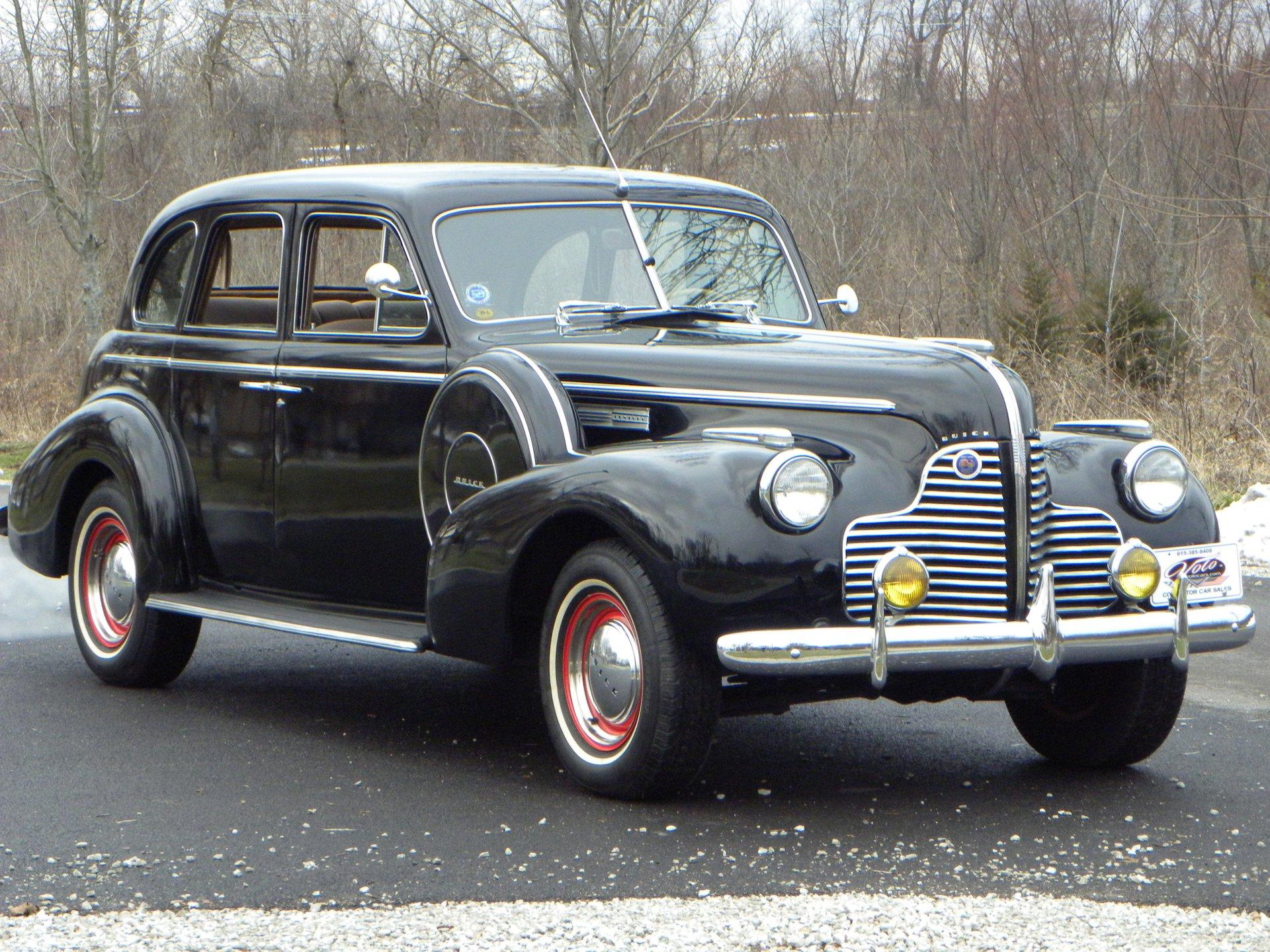 1940 buick century sedan