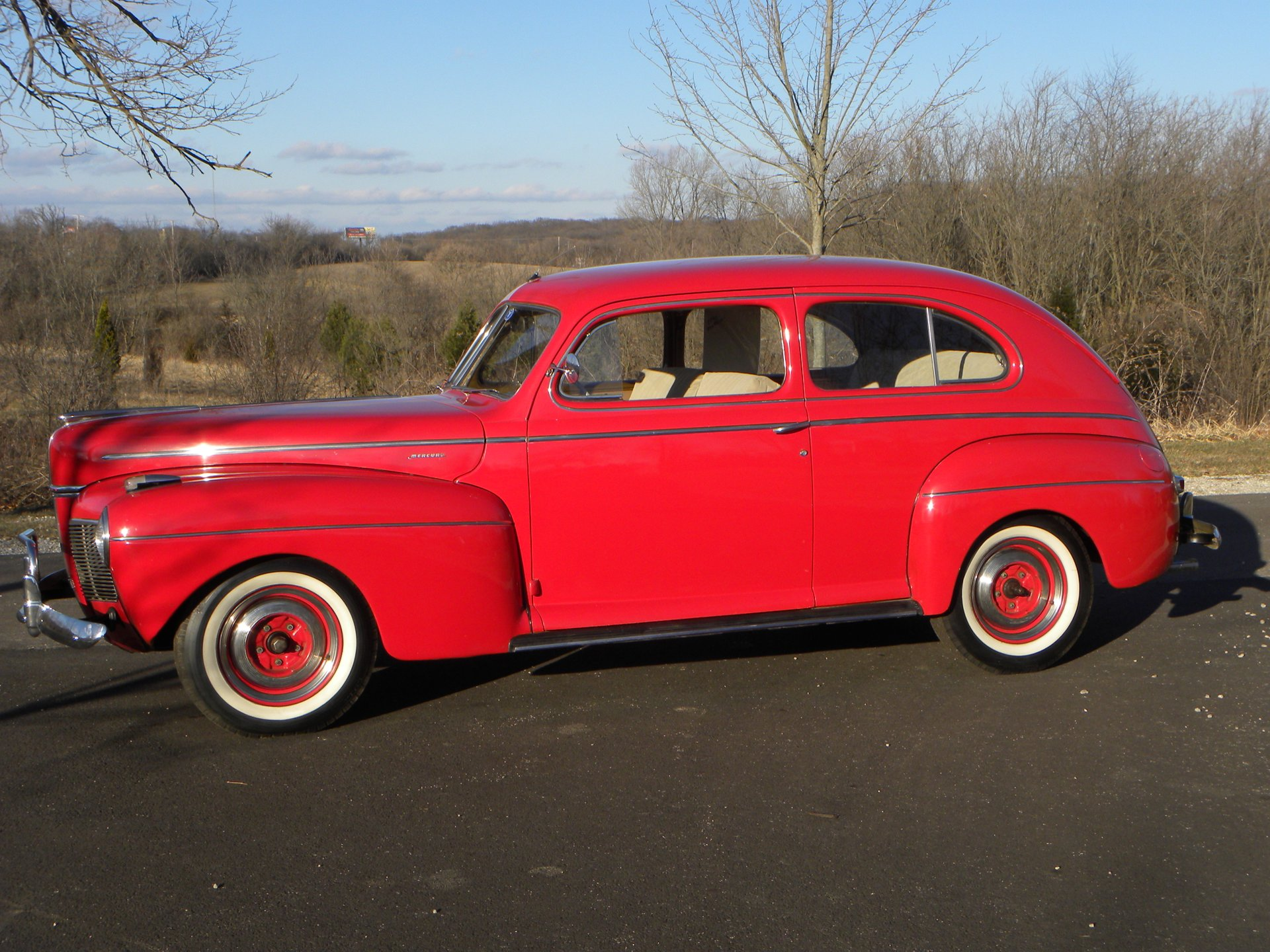 1941 mercury series 19a 2 door sedan