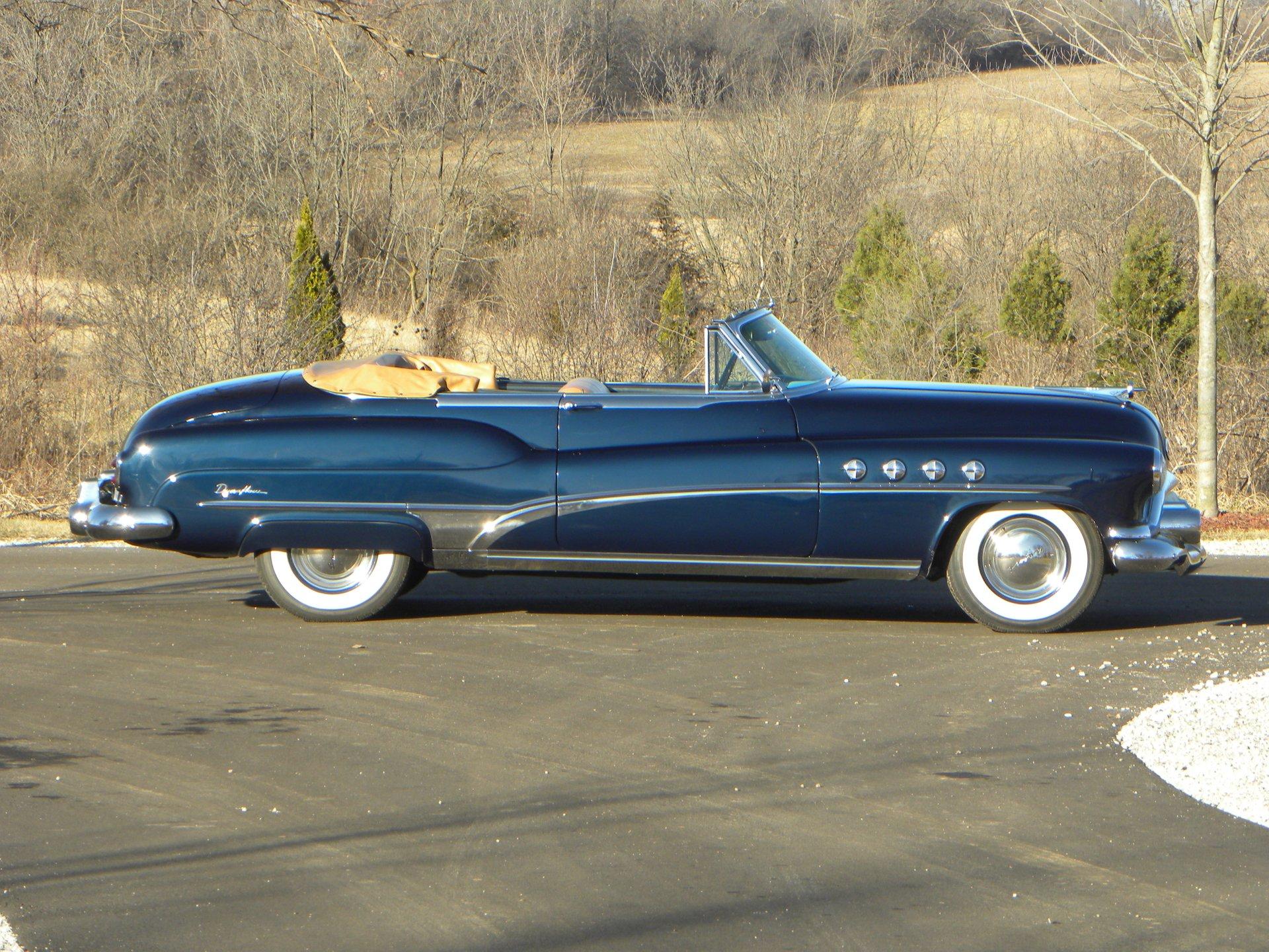 1951 buick model 76c roadmaster convertible