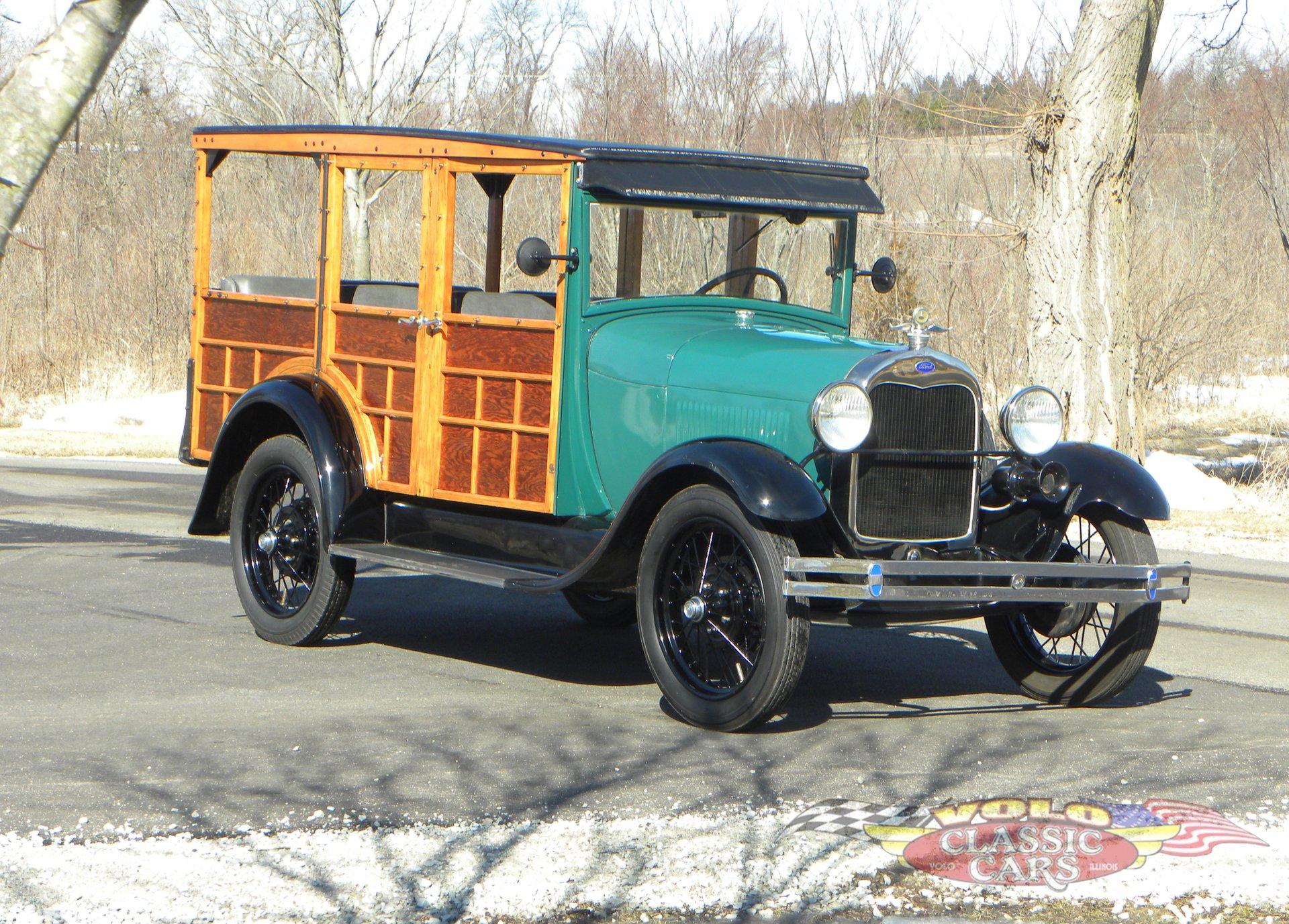 1929 ford model a station wagon