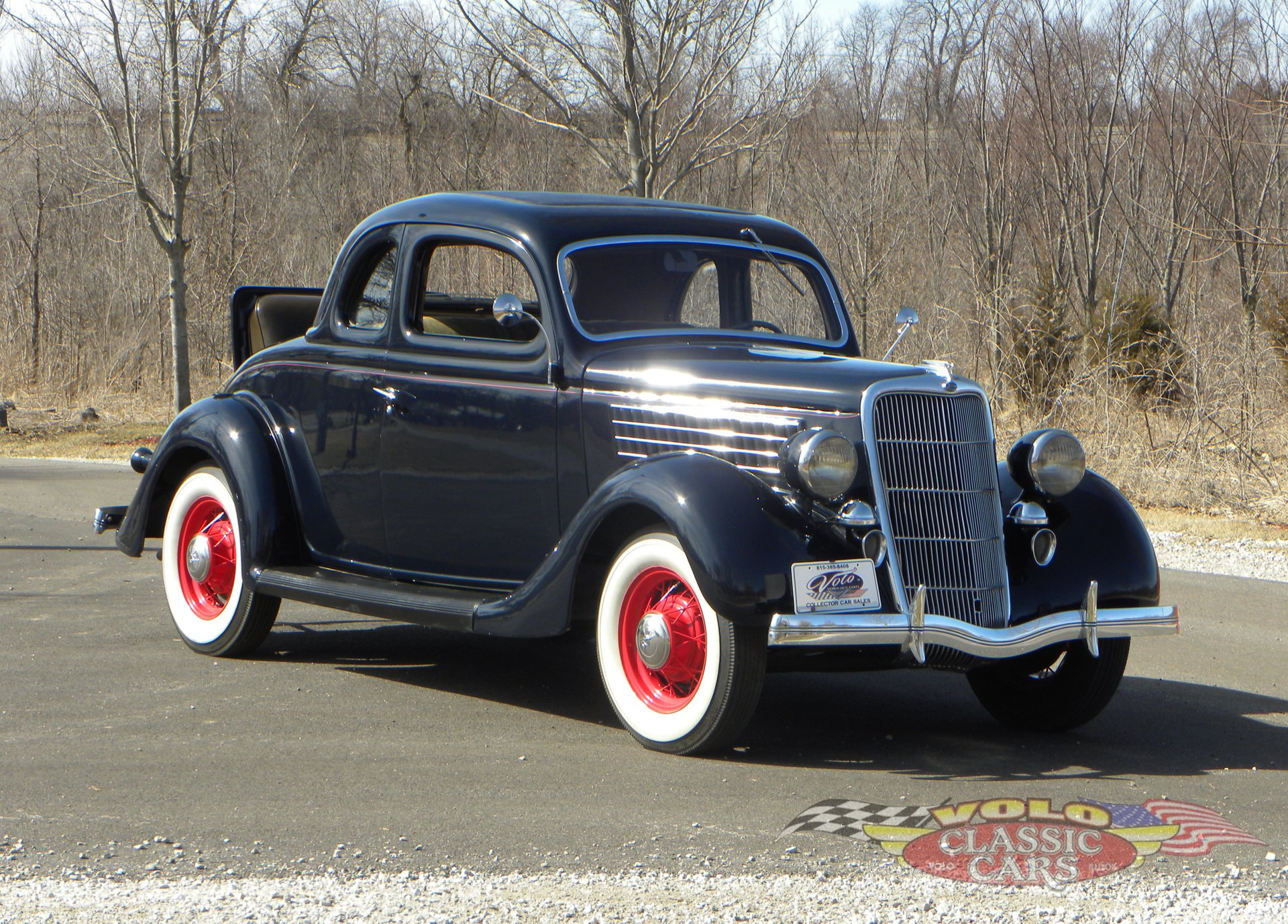 1935 ford model 48 deluxe rumble seat coupe