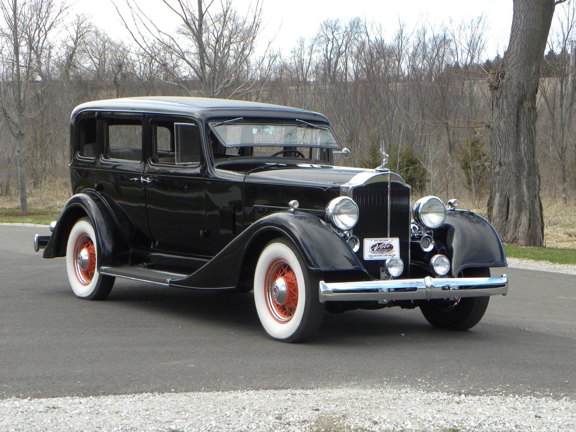 1934 packard 1100 5 passenger sedan eleventh series 8