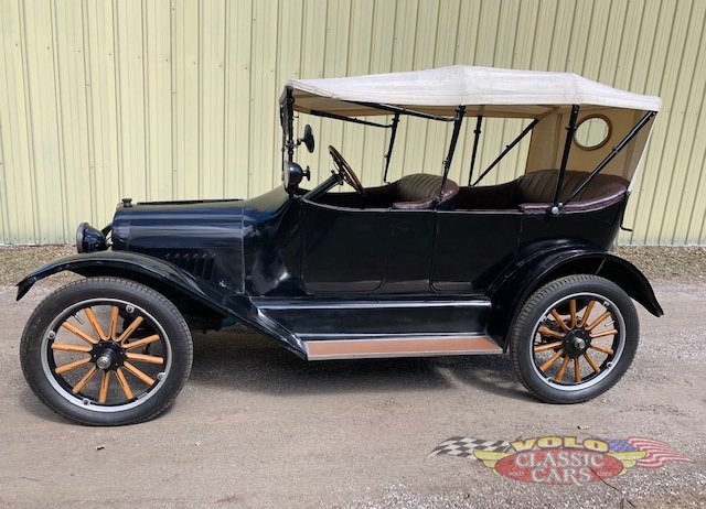 1917 chevrolet model 490 5 passenger touring