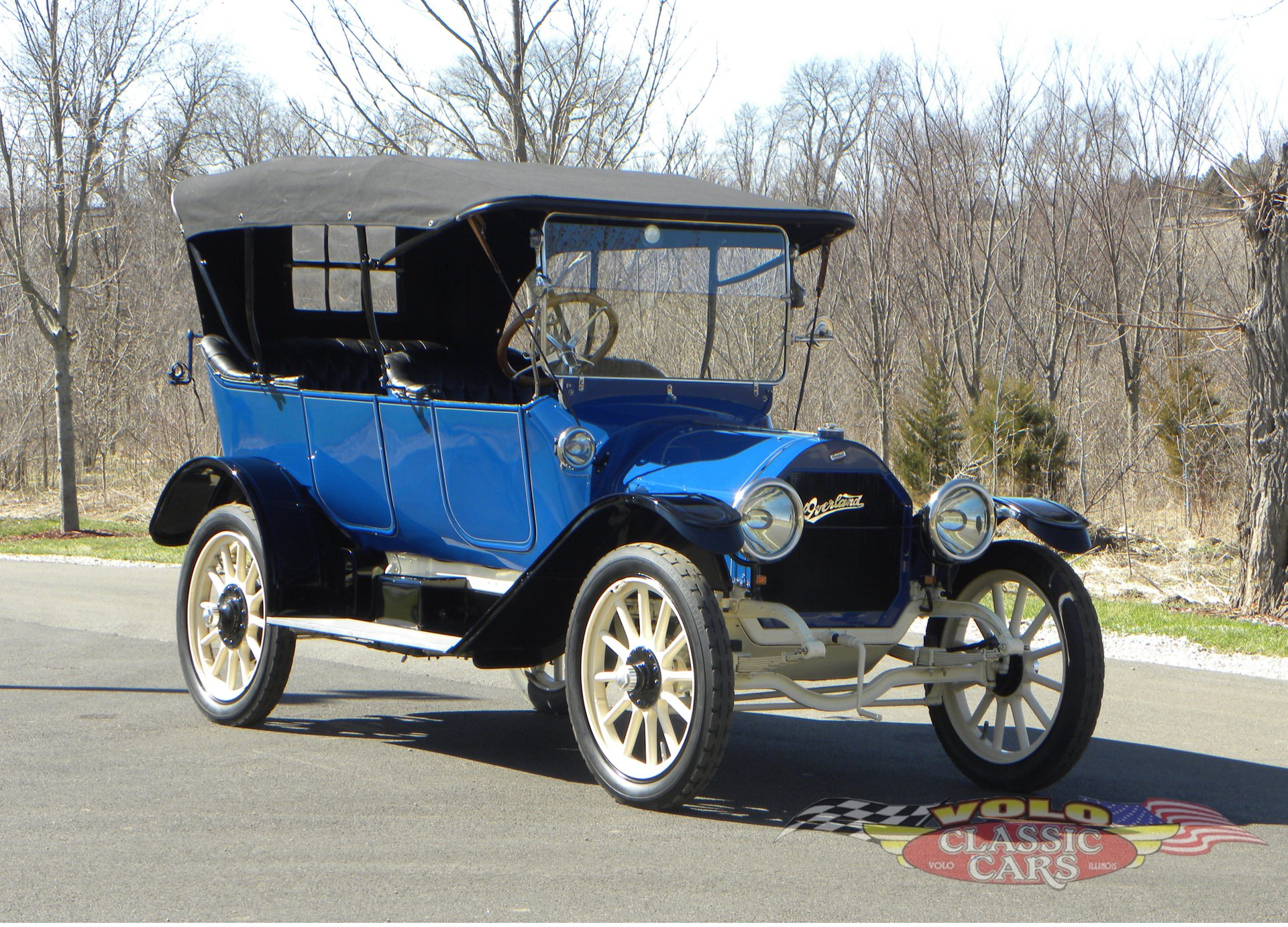 1914 overland model 79 5 passenger touring