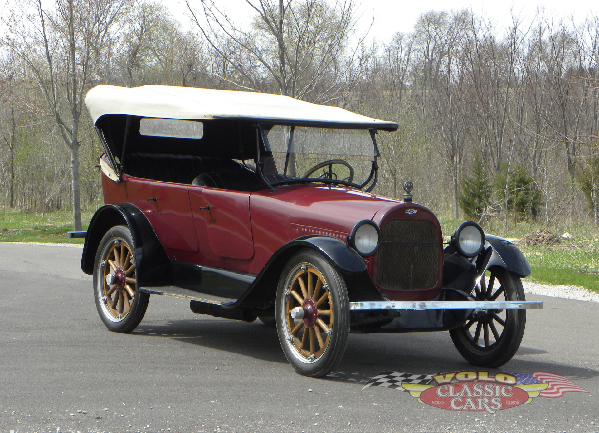 1922 chevrolet series fb 5 passenger touring