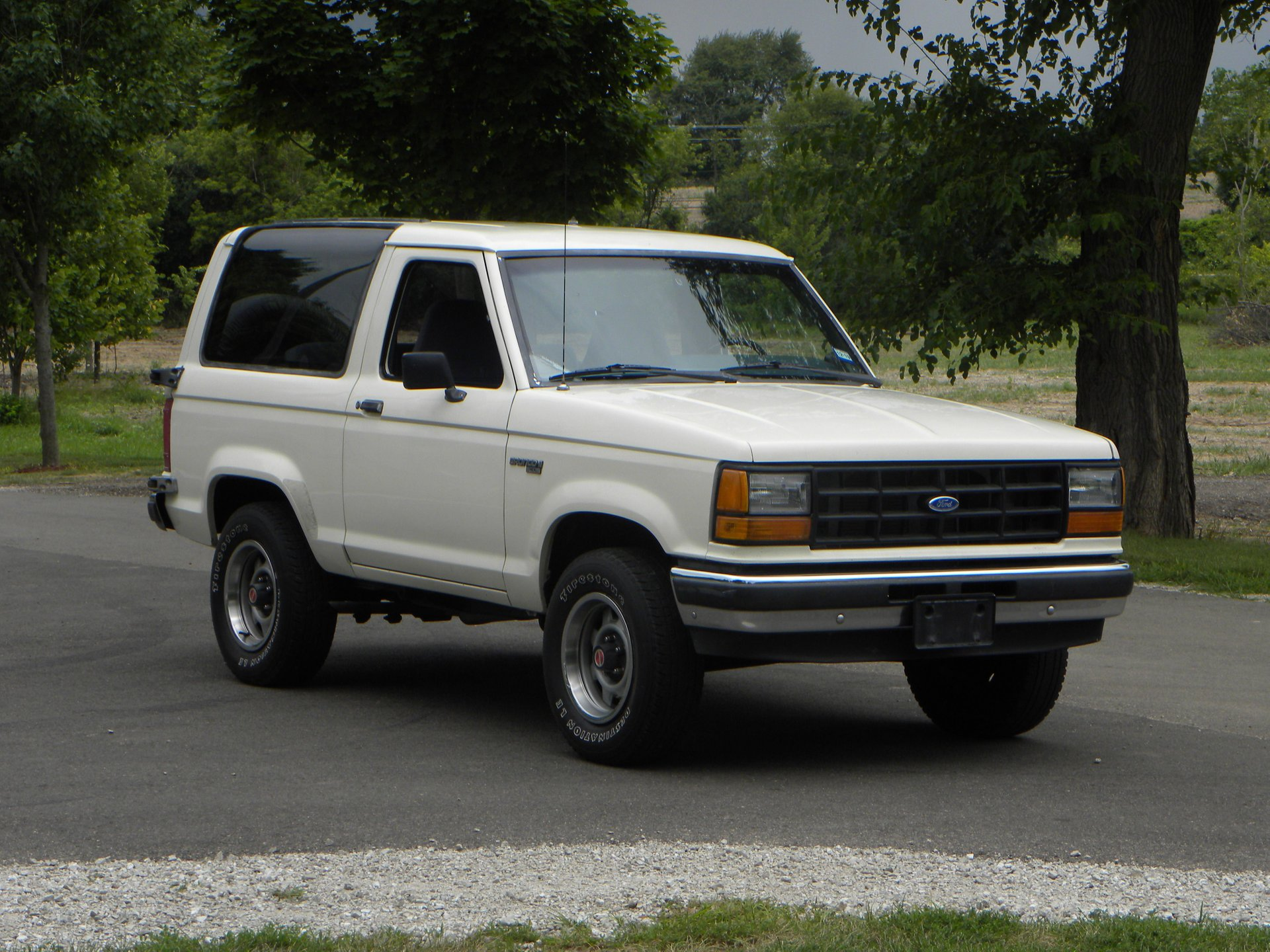 1989 ford bronco xl ii