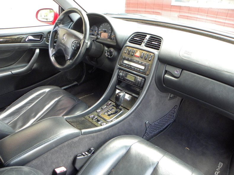 2002 Mercedes-Benz CLK 55 AMG