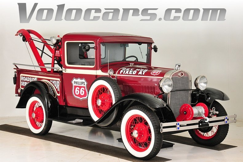1931 ford model a phillips 66 tribute service wrecker